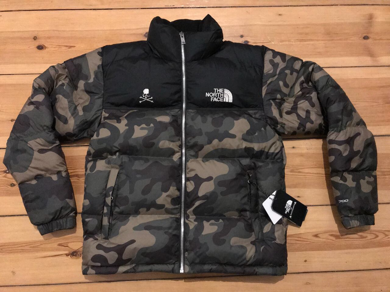 8b5bc5dbab The North Face The North Face x Mastermind Camo Nuptse Size s - Bombers for  Sale - Grailed