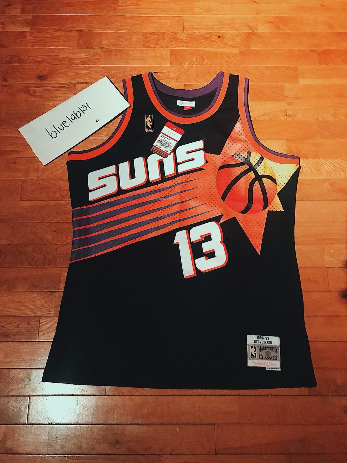 best sneakers 527e8 cff33 Phoenix Suns Steve Nash Jersey