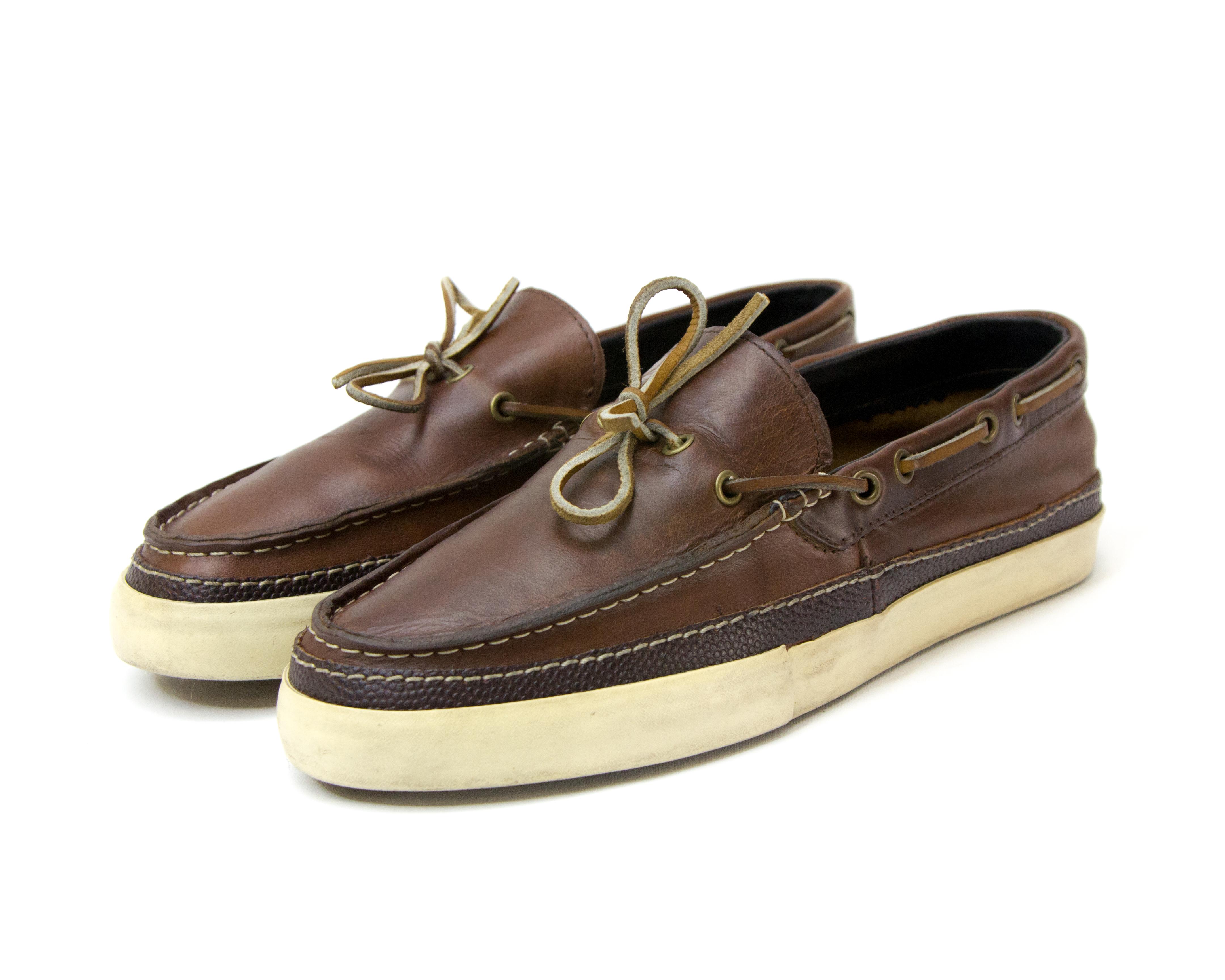 6a3606bbdb Vans 🔥FINAL DROP🔥 Vans Vault X Horween Leather Boat Shoe Piragua LX Size  9.5 - Slip Ons for Sale - Grailed