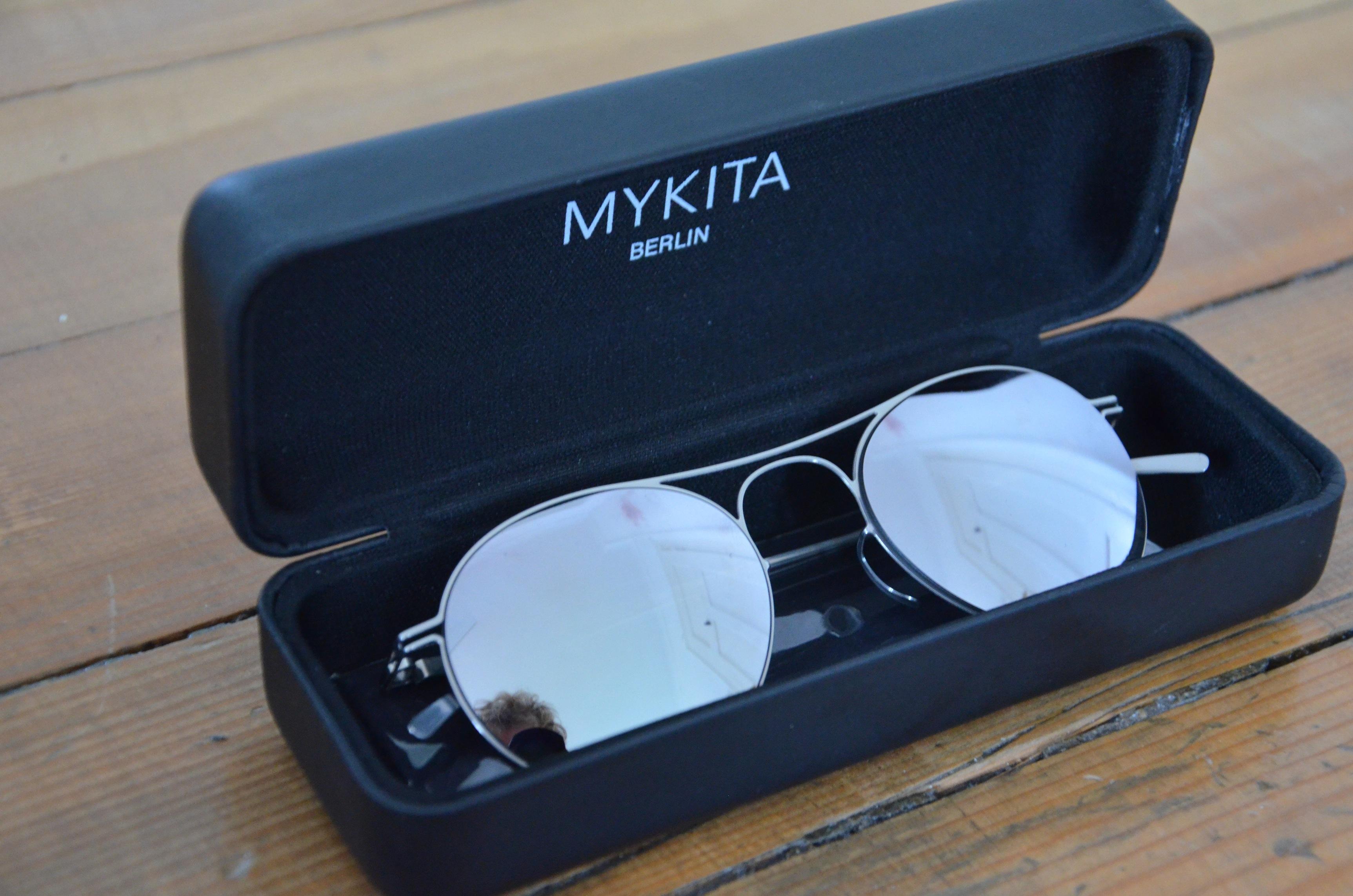 4925c438ee Mykita × Maison Margiela ×. MAISON MARGIELA MMESSE005 Silver Flash  Sunglasses