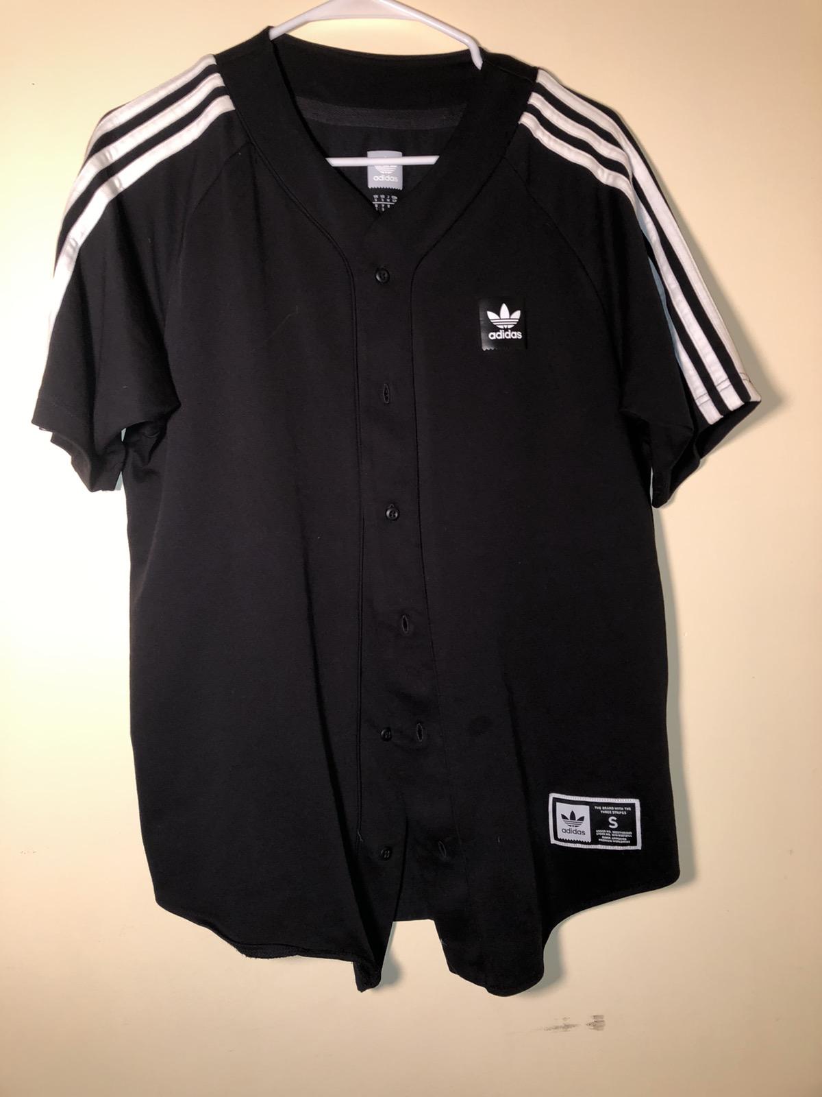 Adidas Adidas baseball jersey button up