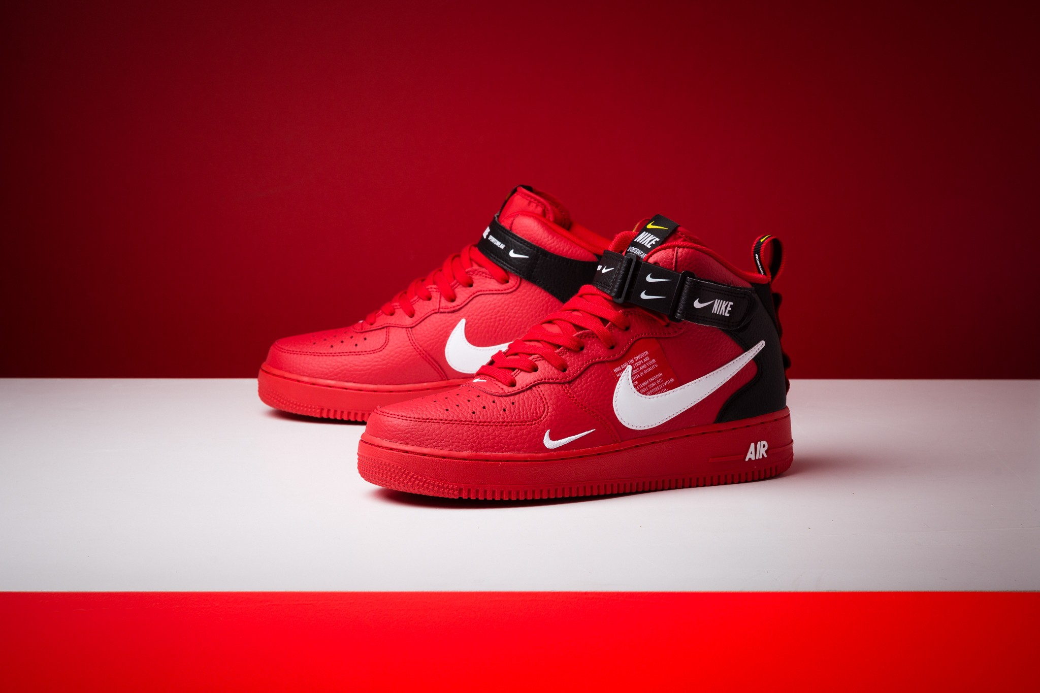 pretty nice 360b8 84735 NIKE® AIR FORCE 1® MID 07 LV8 - Supreme Team Red