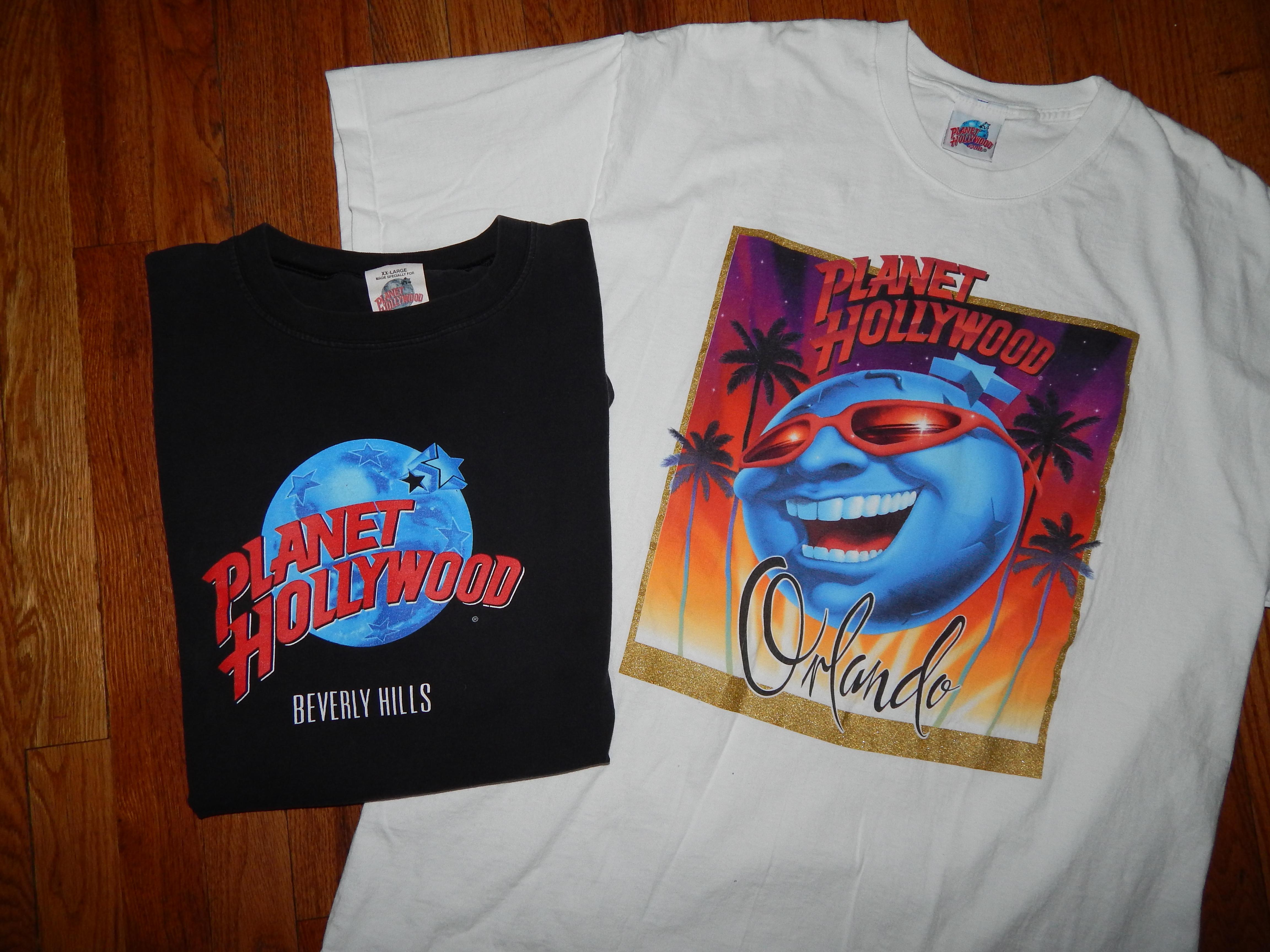 314988d3a15b Vintage × Planet Hollywood ×. VTG Planet Hollywood T-shirt Bundle