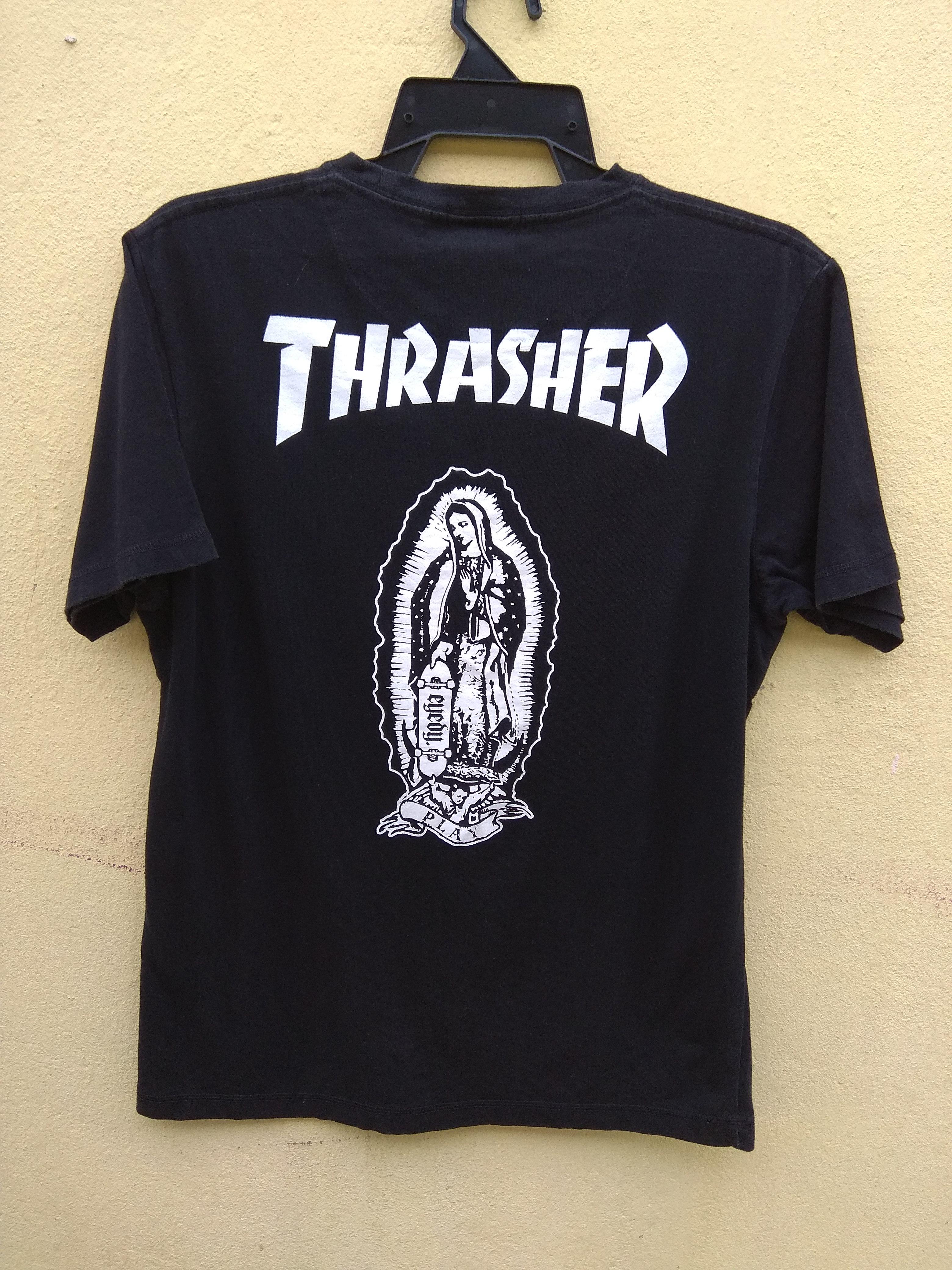 8d6ea6ef7 Thrasher × Brand ×. Rare Thrasher Magazine X Eyedy black t-shirt