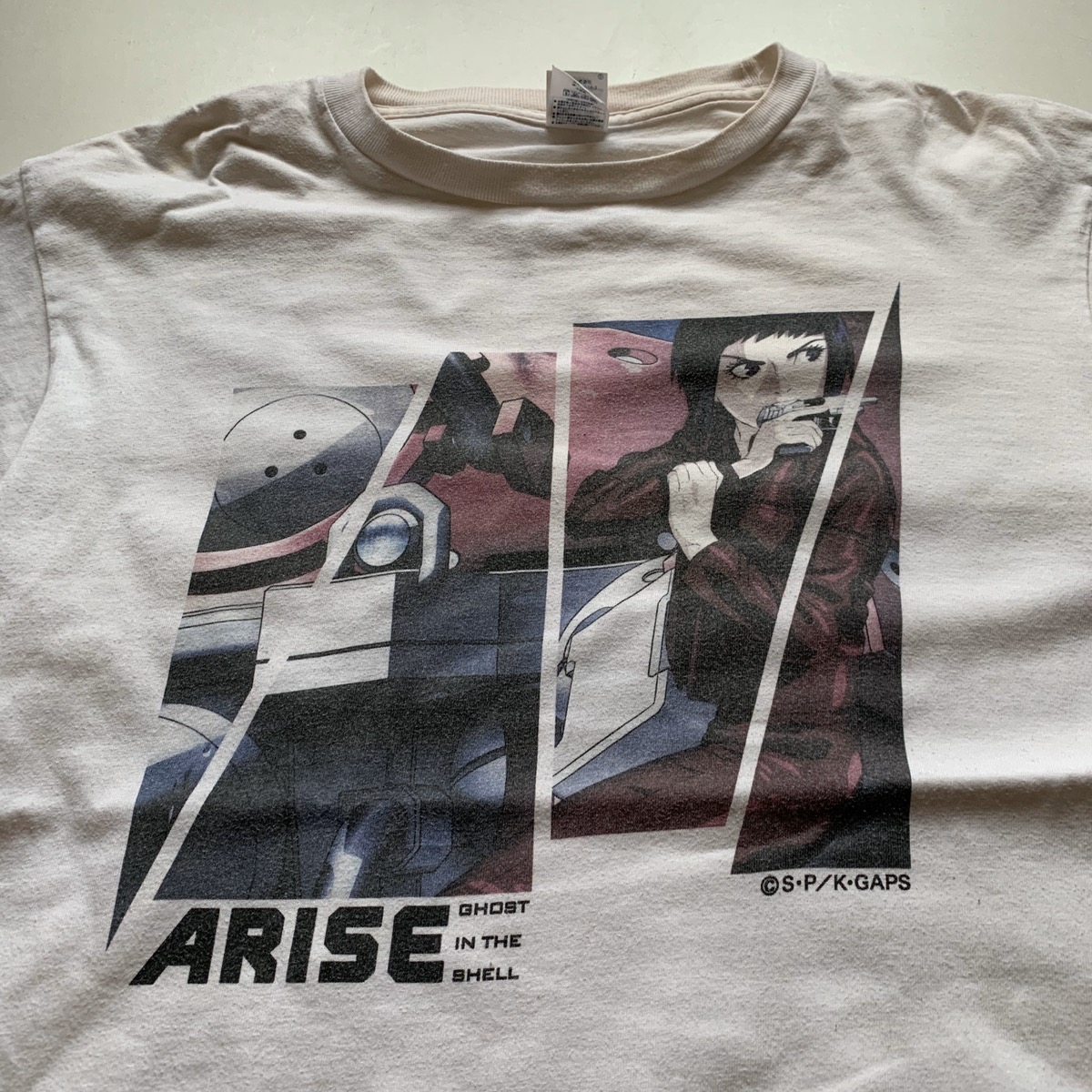 Vintage Vintage Ghost In The Shell T Shirt Grailed