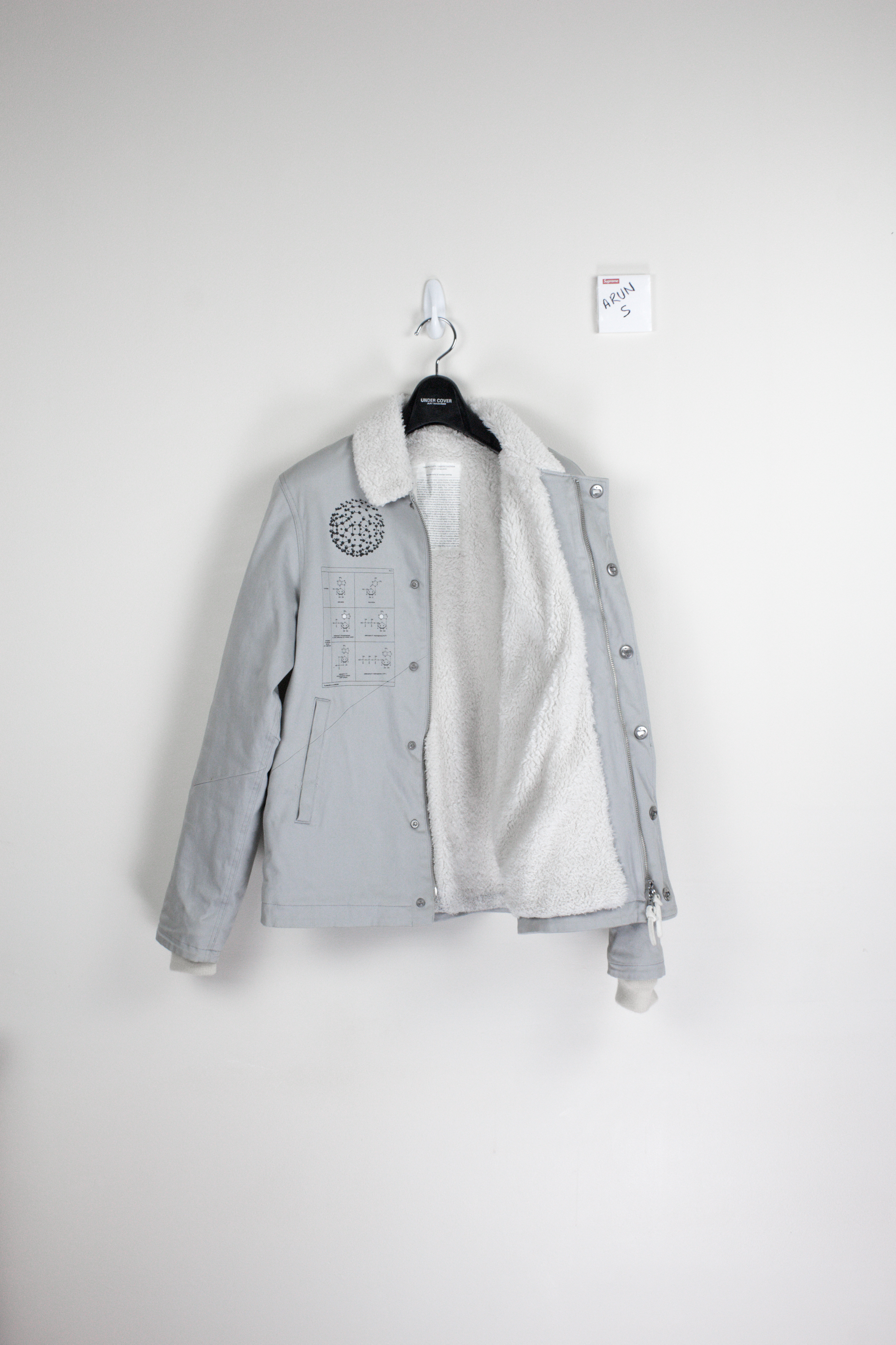 a5388b6269d Undercover 10AW FAux Shearling Chemistry Jacket Size m - Light Jackets for  Sale - Grailed
