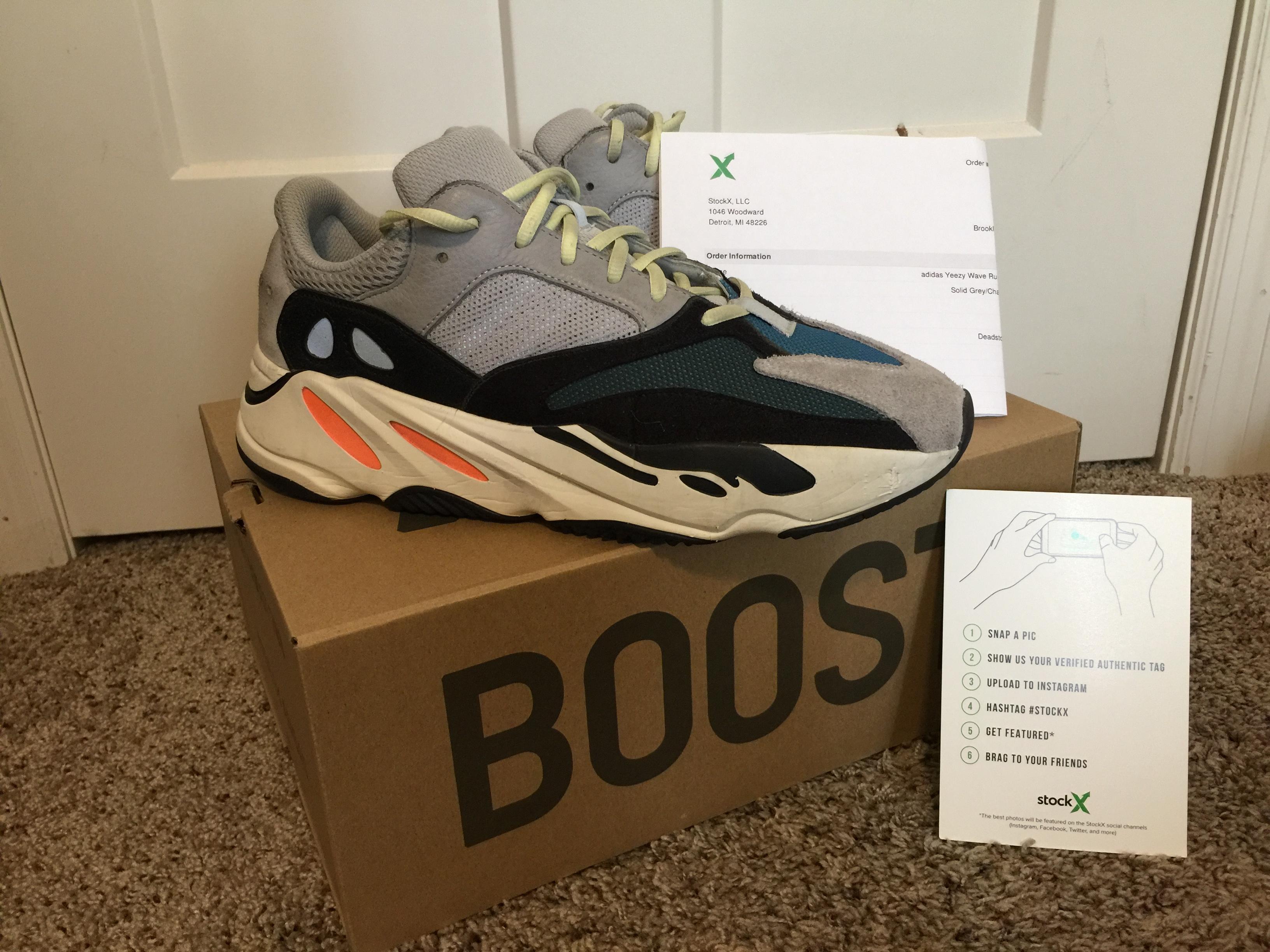 b79889de2 Adidas × Adidas Kanye West × Yeezy Season. (STEAL!) Yeezy Boost Wave Runner  700 Solid Grey. Size  US 11.5 ...