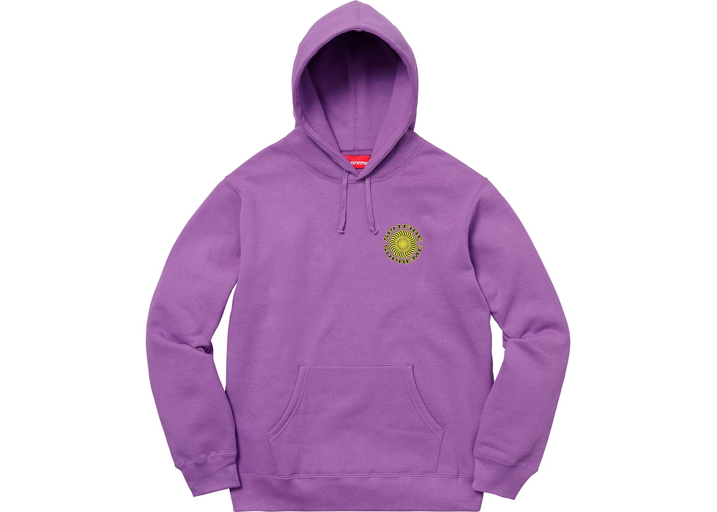Supreme × Spitfire. Supreme Spitfire Hooded Sweatshirt SS18 Light Purple 587c7b3a201b