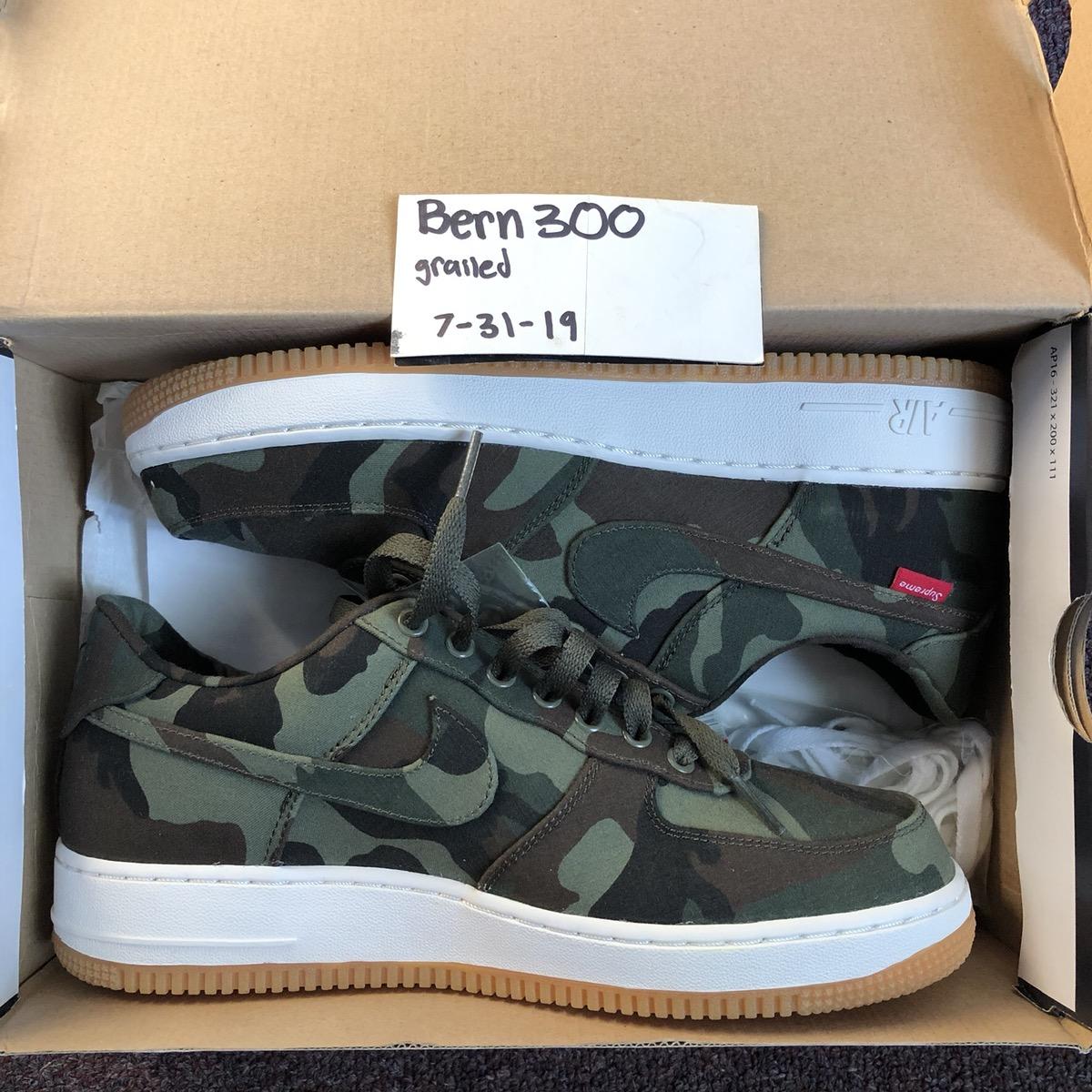 Force Air 1camo Supreme Nike xtdBQsChor