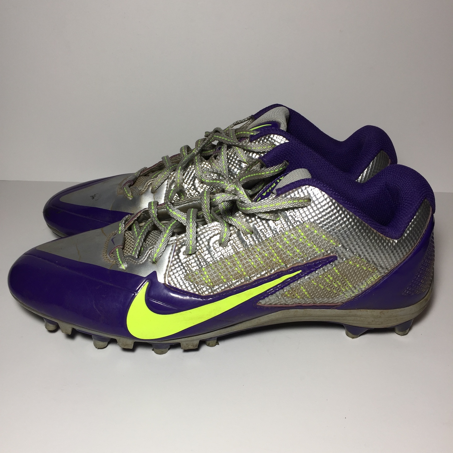 a7011d19cee0 Nike Nike Alpha Pro TD Mens Shoes 579545 Purple Silver Football Cleats Size  12 - Low-Top Sneakers for Sale - Grailed