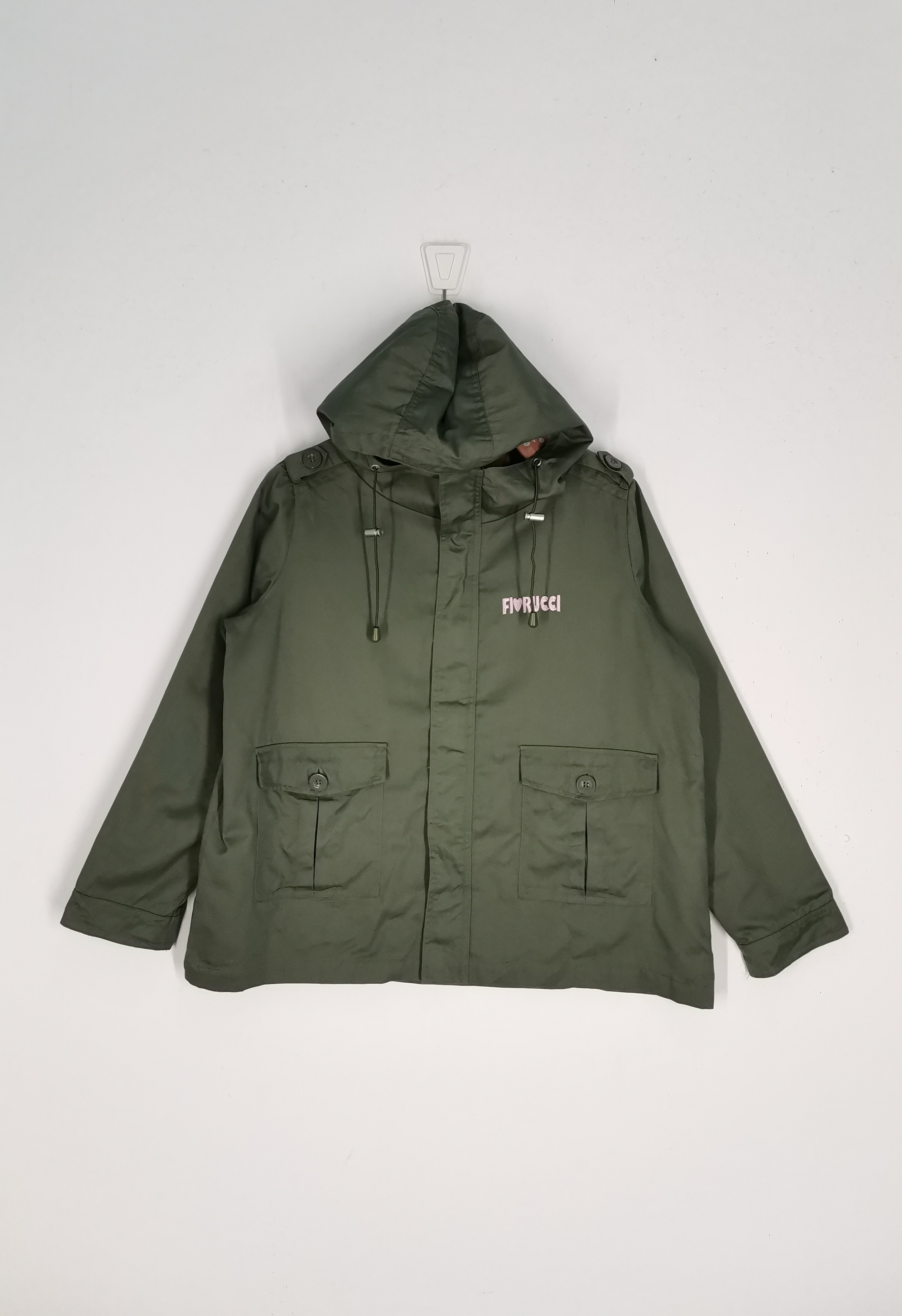 Fiorucci Rare Fiorucci Jacket Hoodies Nice Design Grailed