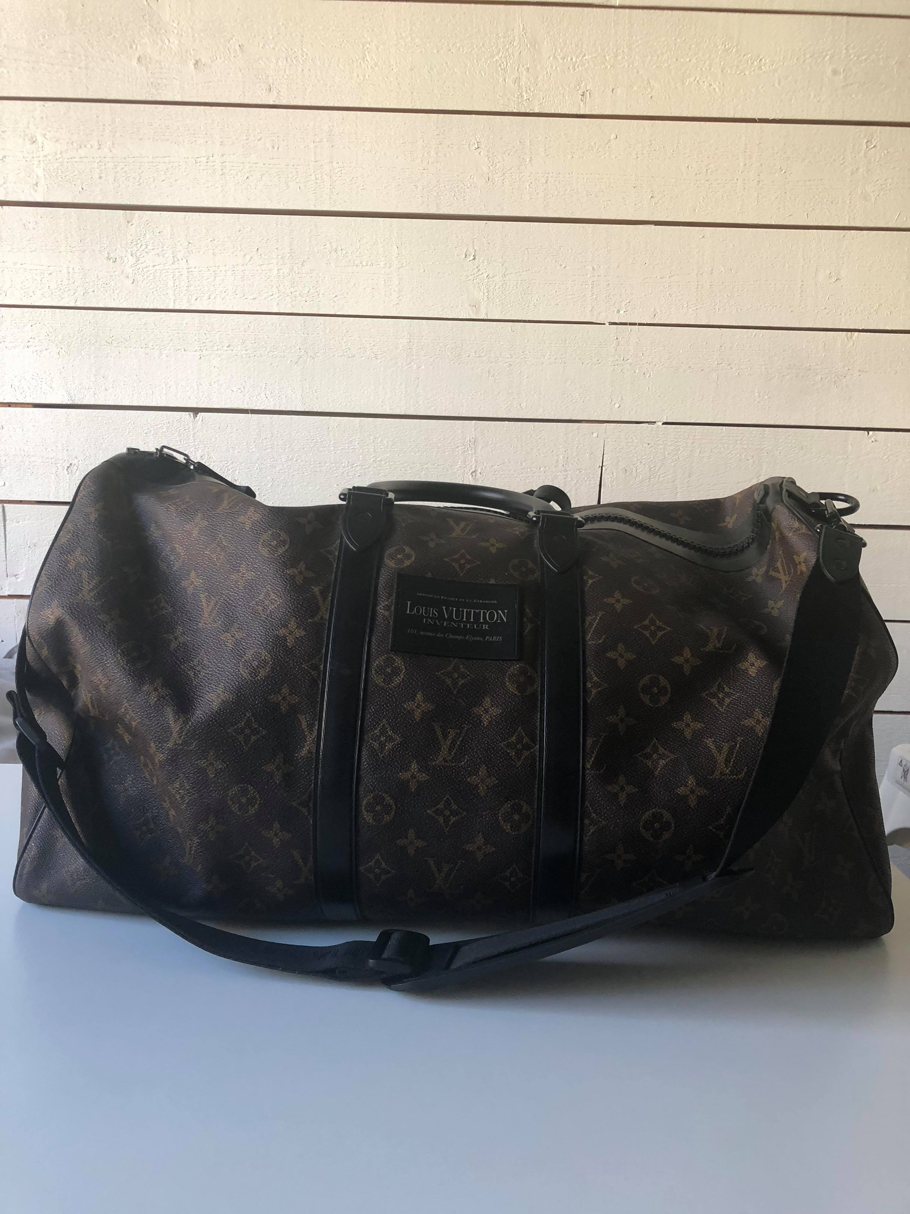 f36fc3ce05 Louis Vuitton Limited Edition Louis Vuitton Cup Waterproof Keepall 55  bandouliere Yacht Size one size - Bags & Luggage for Sale - Grailed