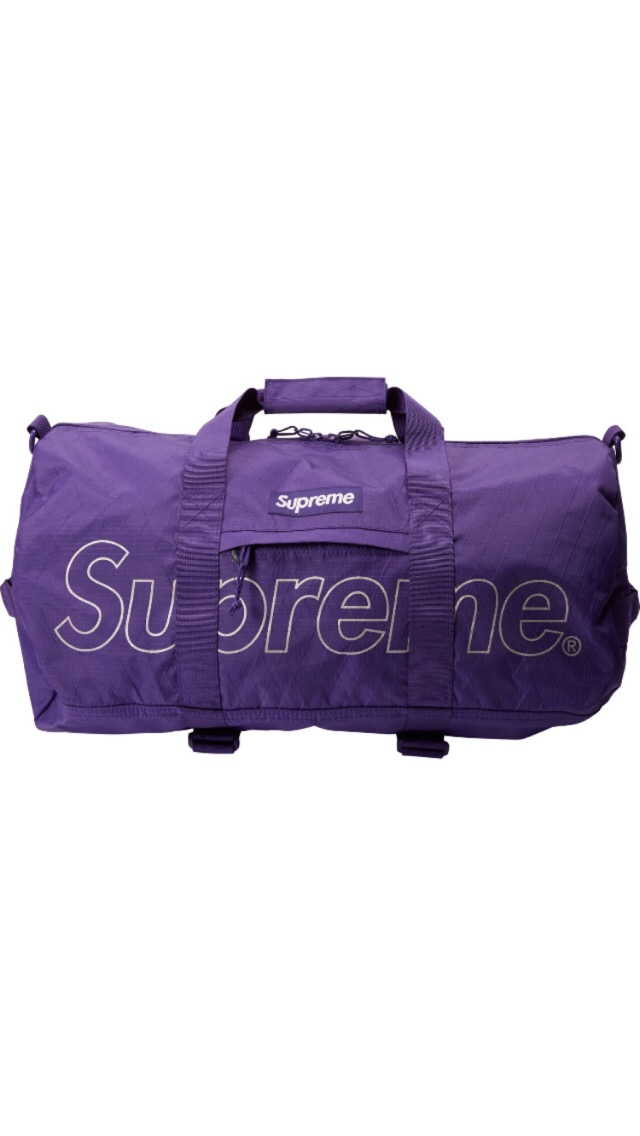 cfb16f94d9 Supreme Supreme Duffle Bag (FW18) Purple Size one size - Bags   Luggage for  Sale - Grailed