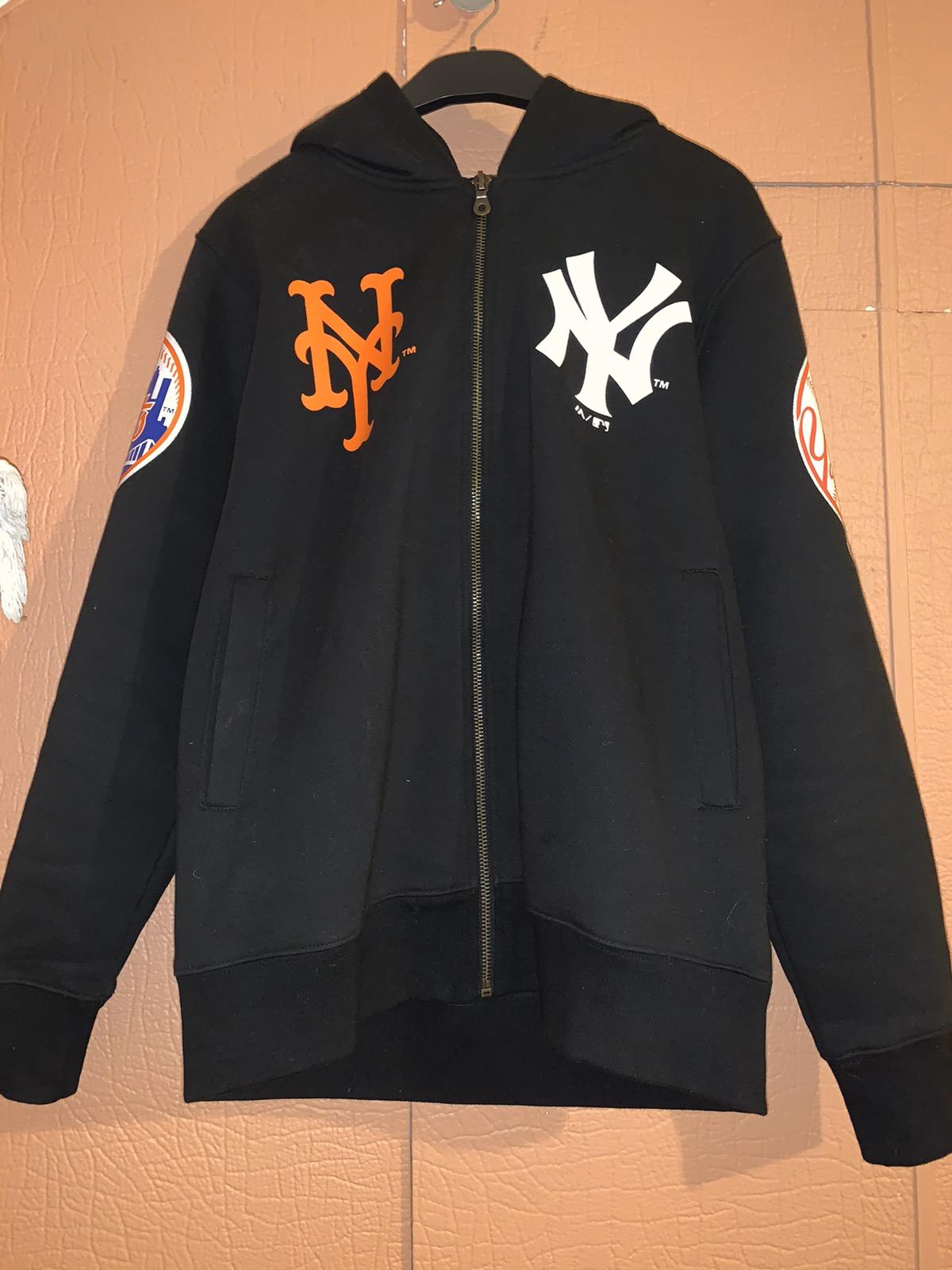 Majestic Japan Mets x Yankees Rare Zip Hoodie