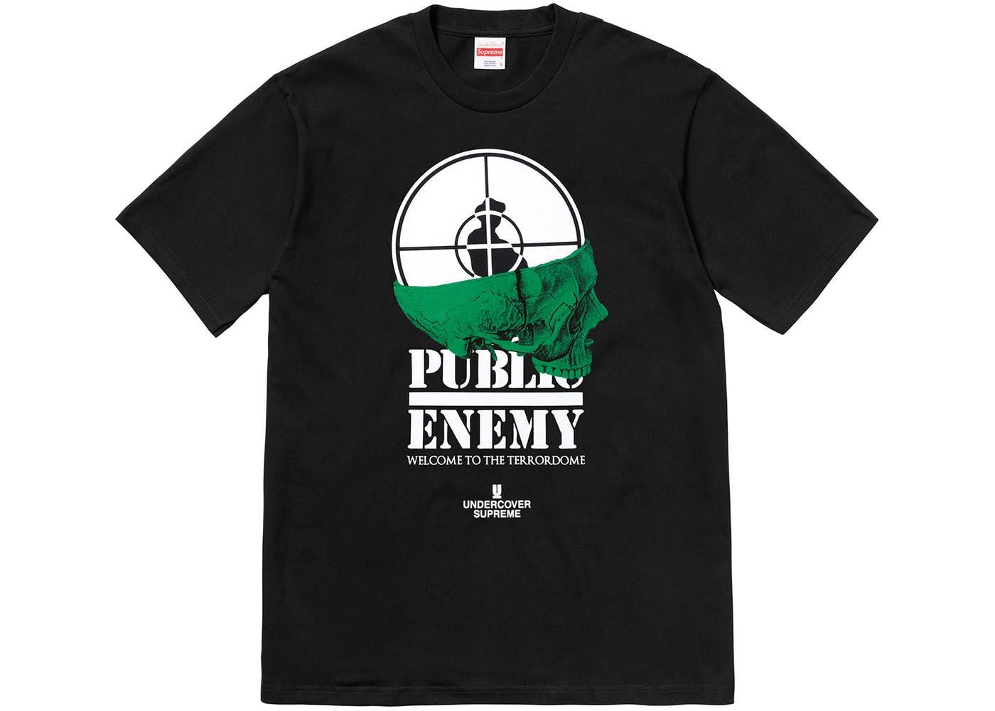 Supreme Undercover X Public Enemy