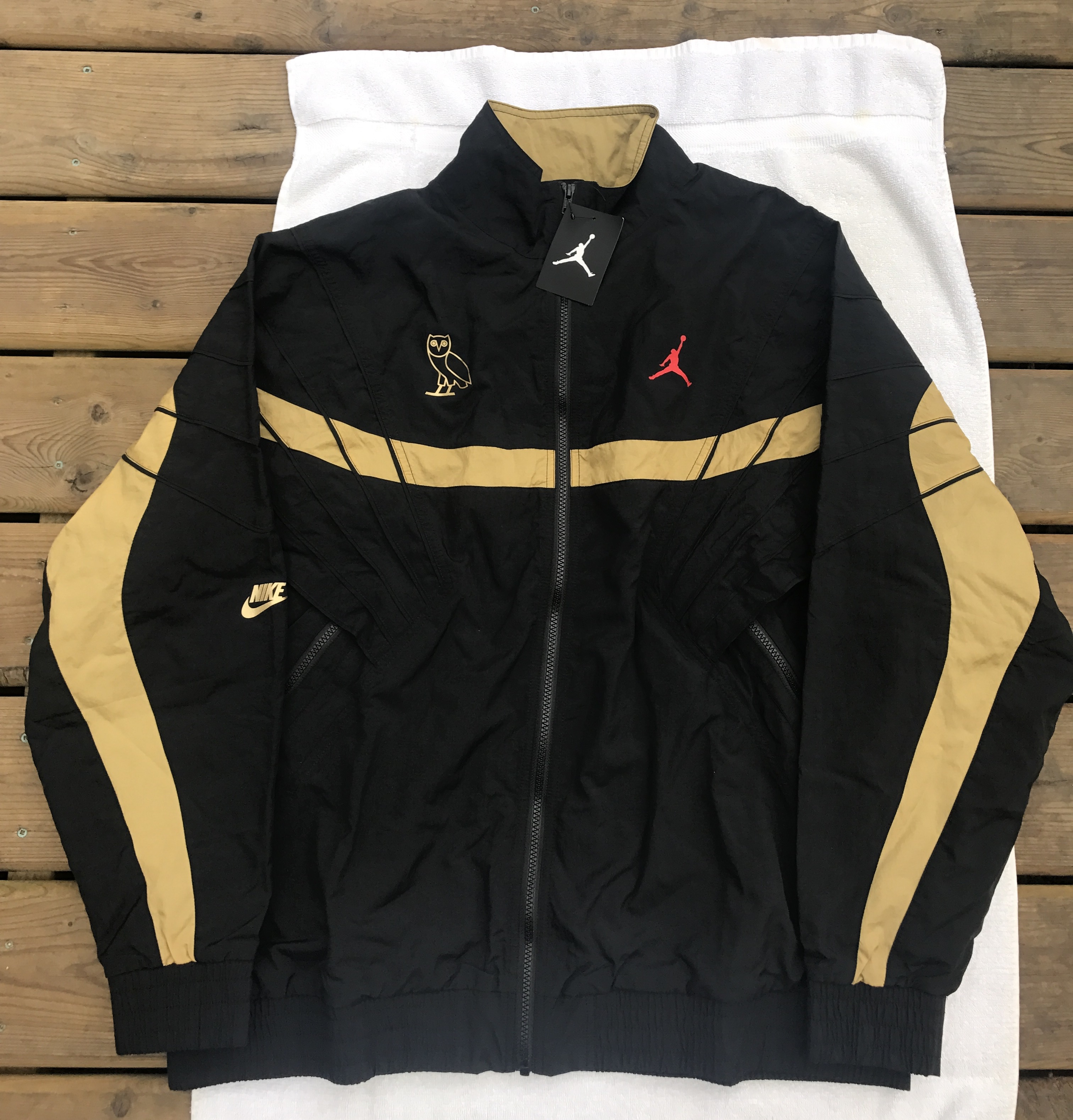 72d1cfe7dfd Jordan Brand Last Drop. Ovo X Air Jordan Flight Retro 8 Track Jacket ...