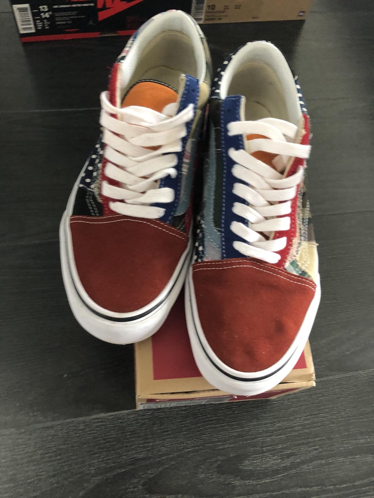 6efc126306572b Vans Vans Old Skool Patchwork Factory Floor Size 9 - Low-Top Sneakers for  Sale - Grailed