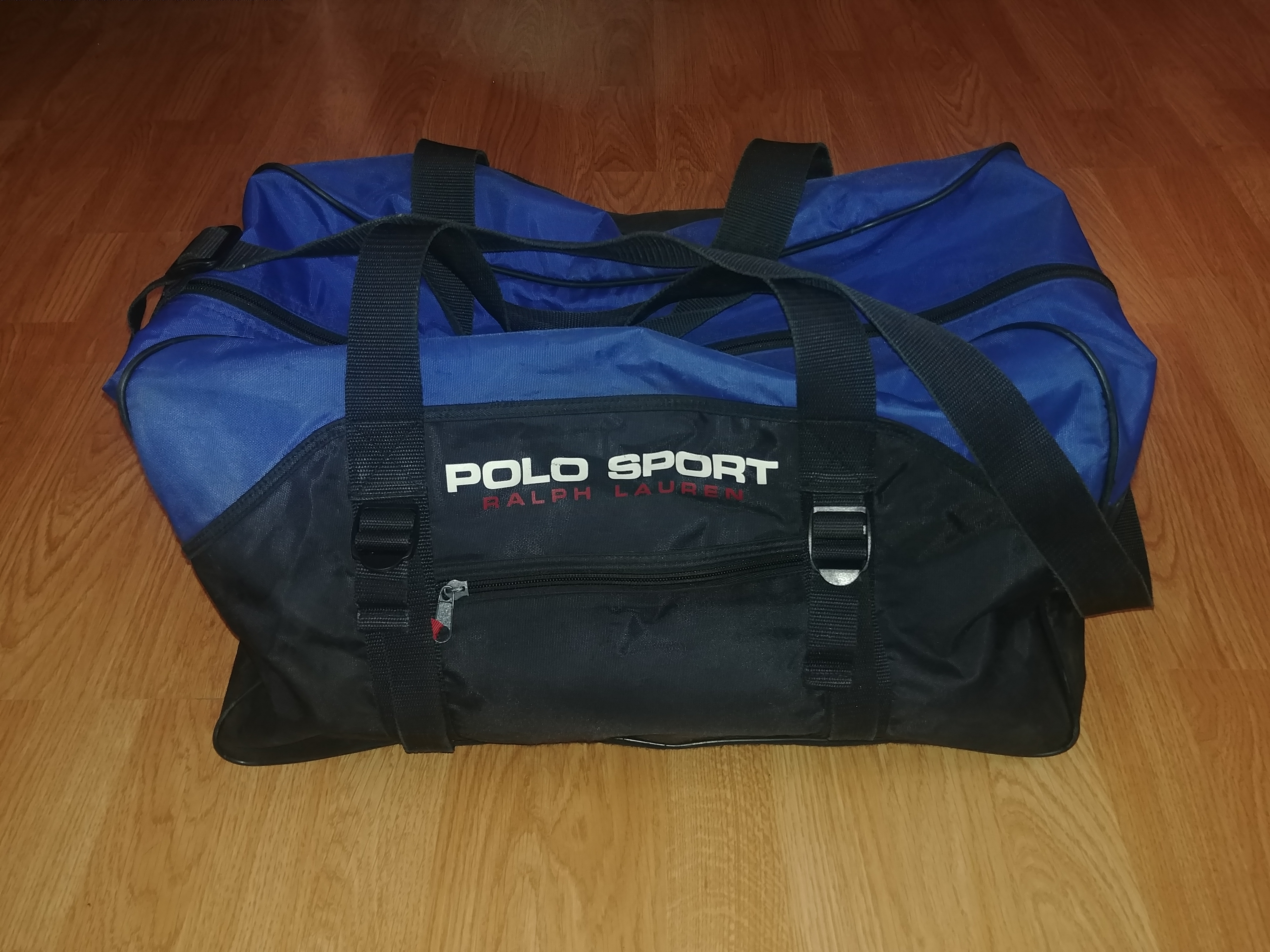 Spell Duffle 90's Sport Ralph Vintage Polo Out Bag Lauren bgY7y6f