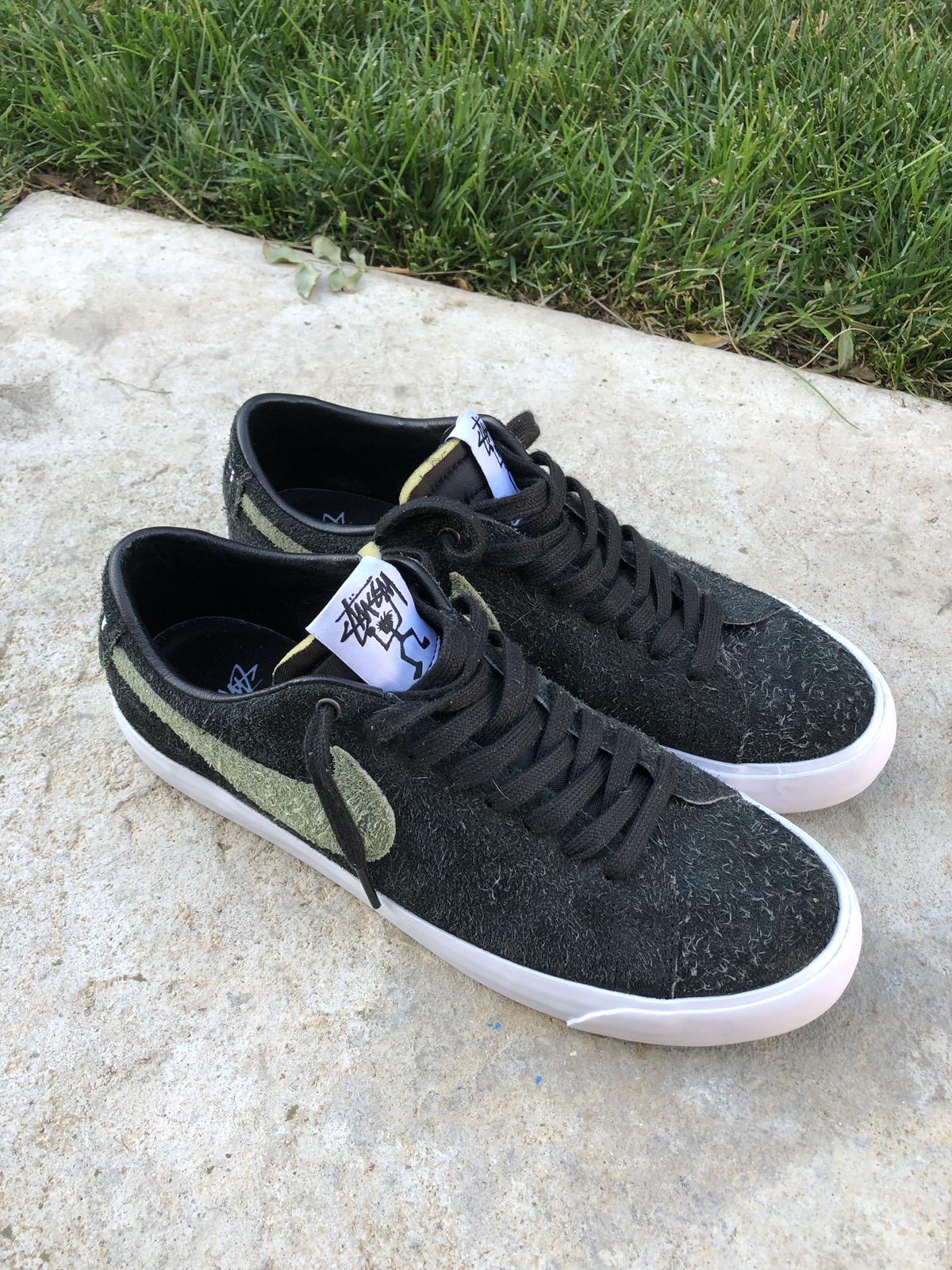 sale retailer b73ae e0bfb Stussy Nike SB Blazer Low