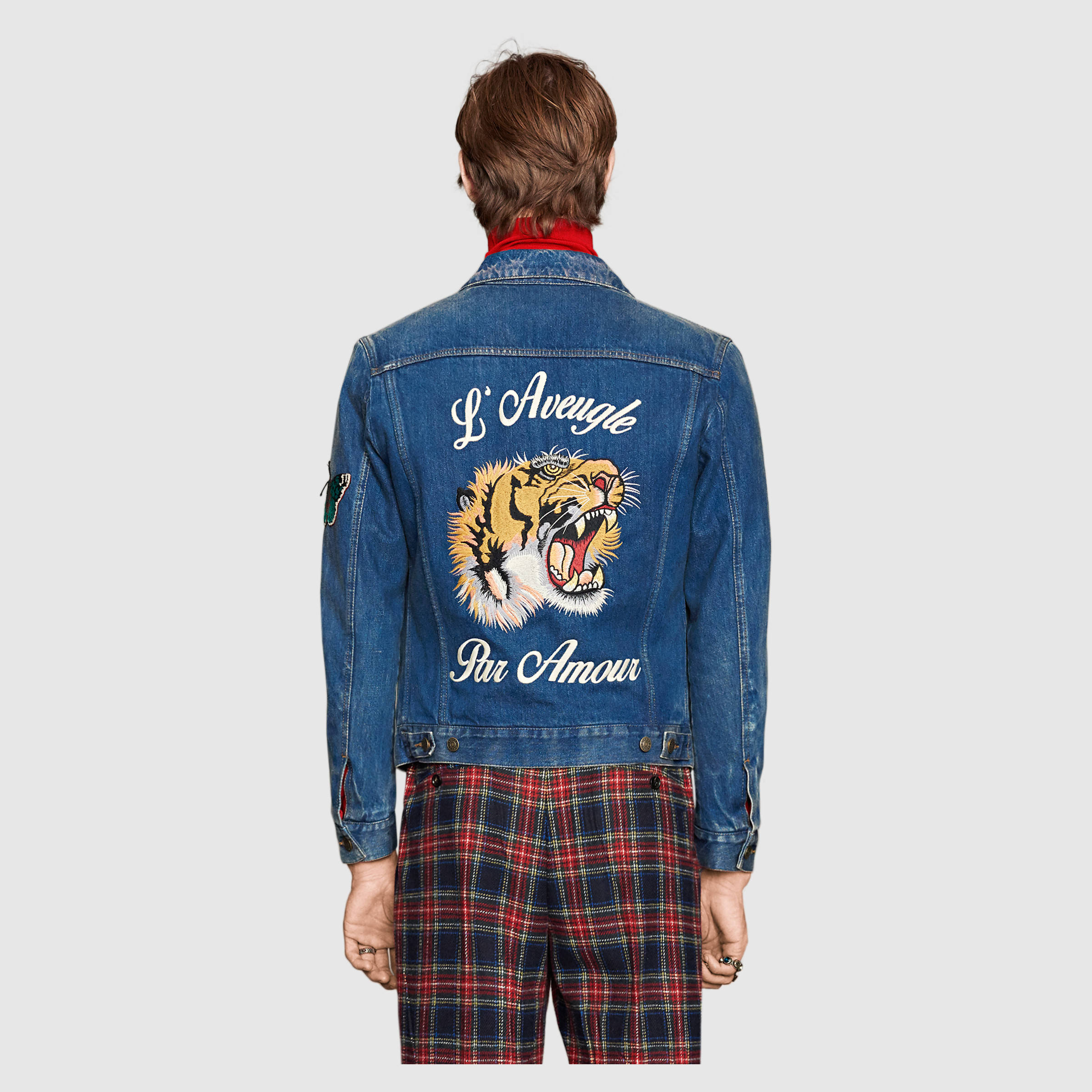 e2622b559 Gucci Denim Jacket   Grailed