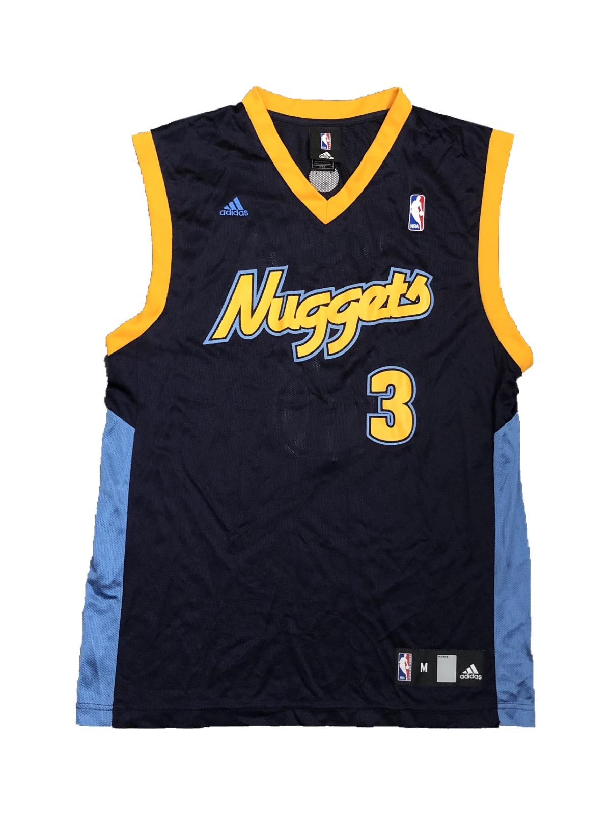 reputable site 56148 f2fb3 Adidas Denver Nuggets Allen Iverson Jersey