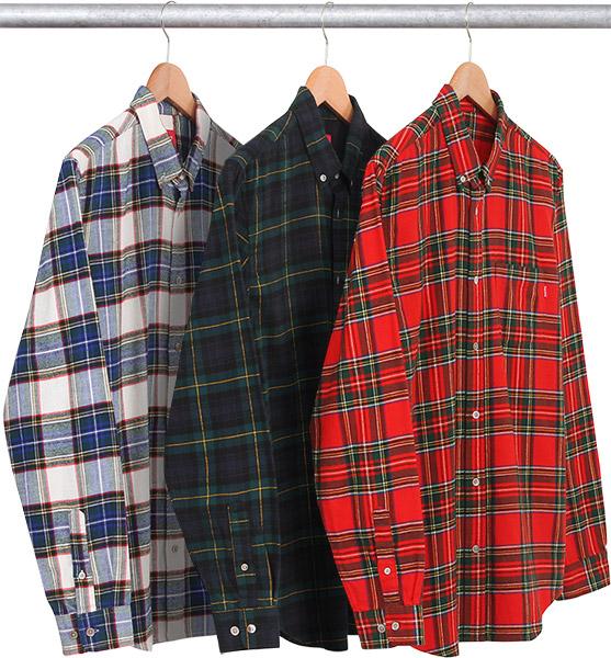 63028e906c4 Supreme Tartan flannel Size m - Shirts (Button Ups) for Sale - Grailed
