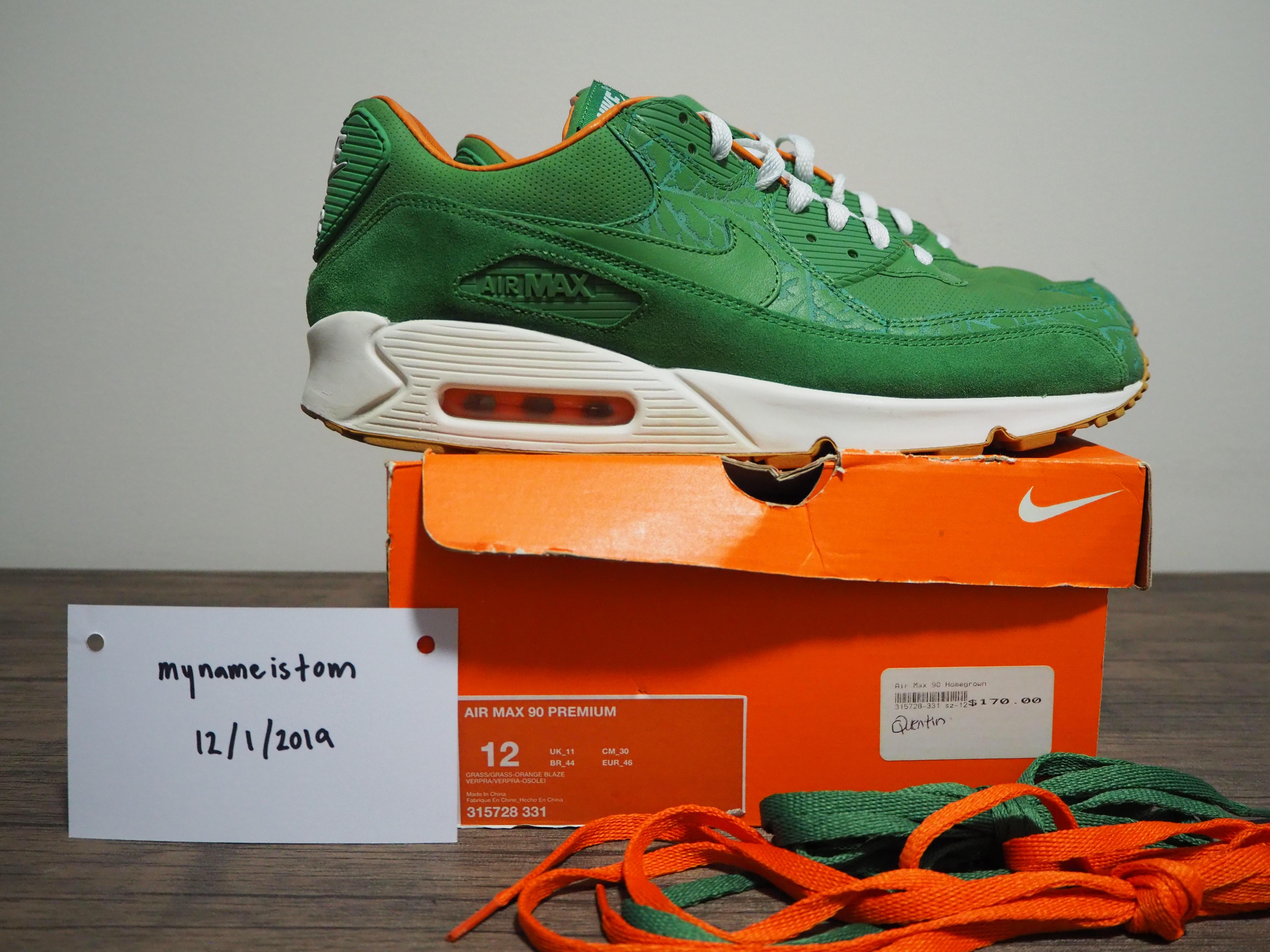 Air Max 90 Premium 'Homegrown' Nike 315728 331   GOAT
