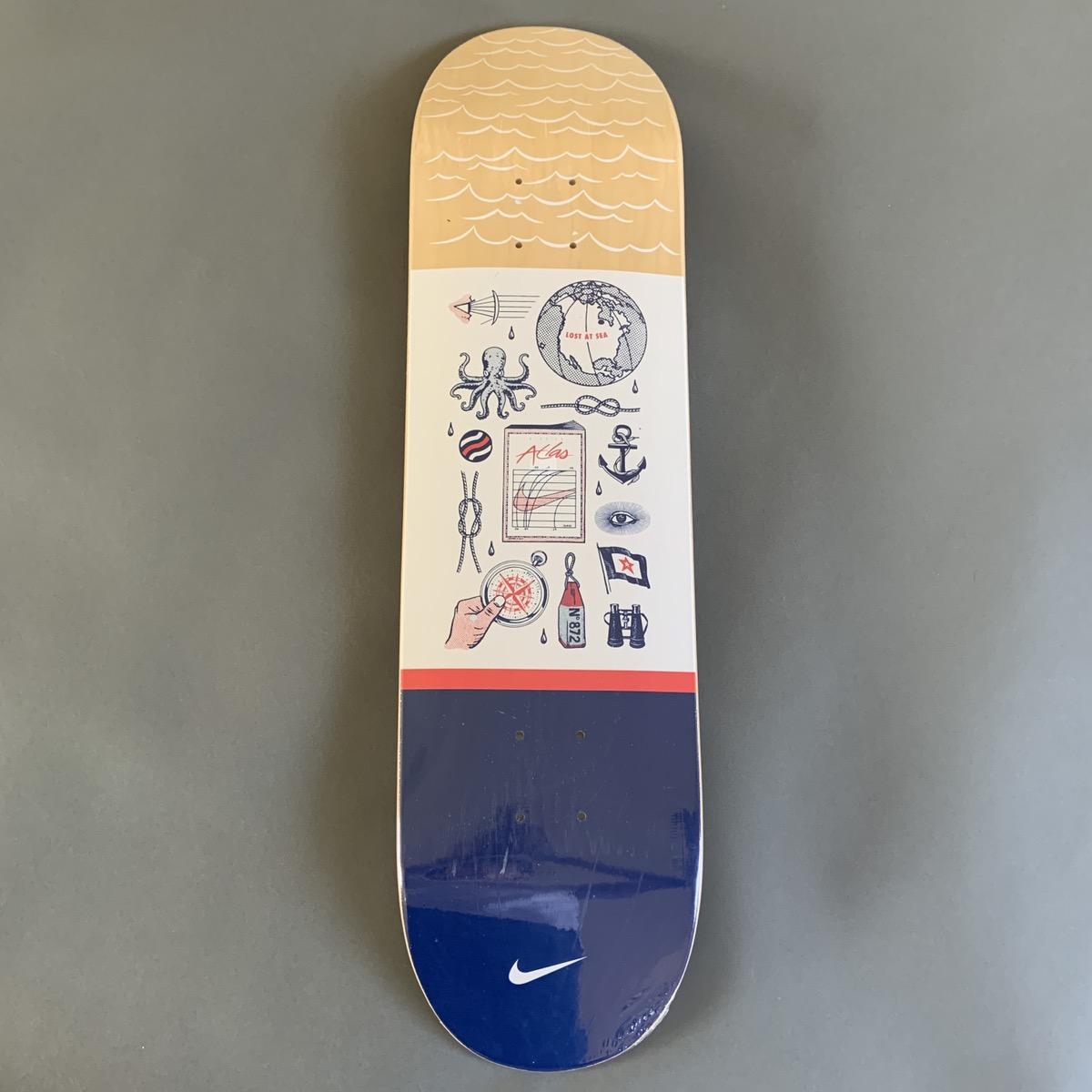 "Será Clásico Plaga  Nike Nike Sb X Atlas ""lost At Sea"" Elements Skateboard Deck 8.25 | Grailed"