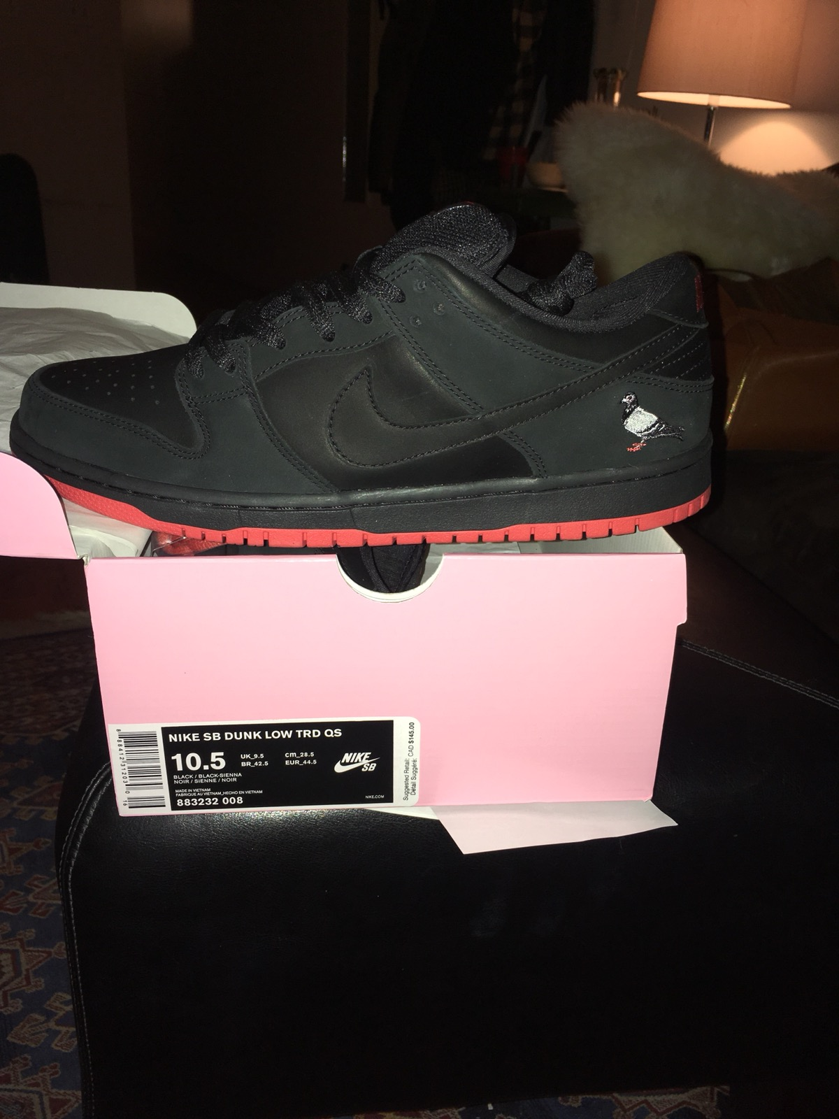 sports shoes cef2c cc5ab Nike × Staple ×. Nike SB Dunk Low TRD QS Black Pigeon ...