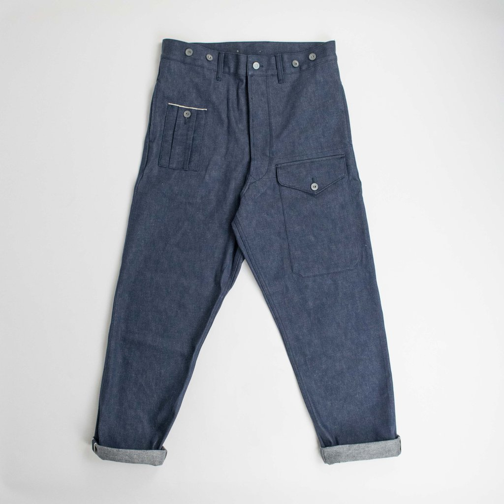 1bc7e98b4649e3 Nigel Cabourn NIGEL CABOURN x LYBRO - BRITISH ARMY PANT Size 36 - Denim for  Sale - Grailed