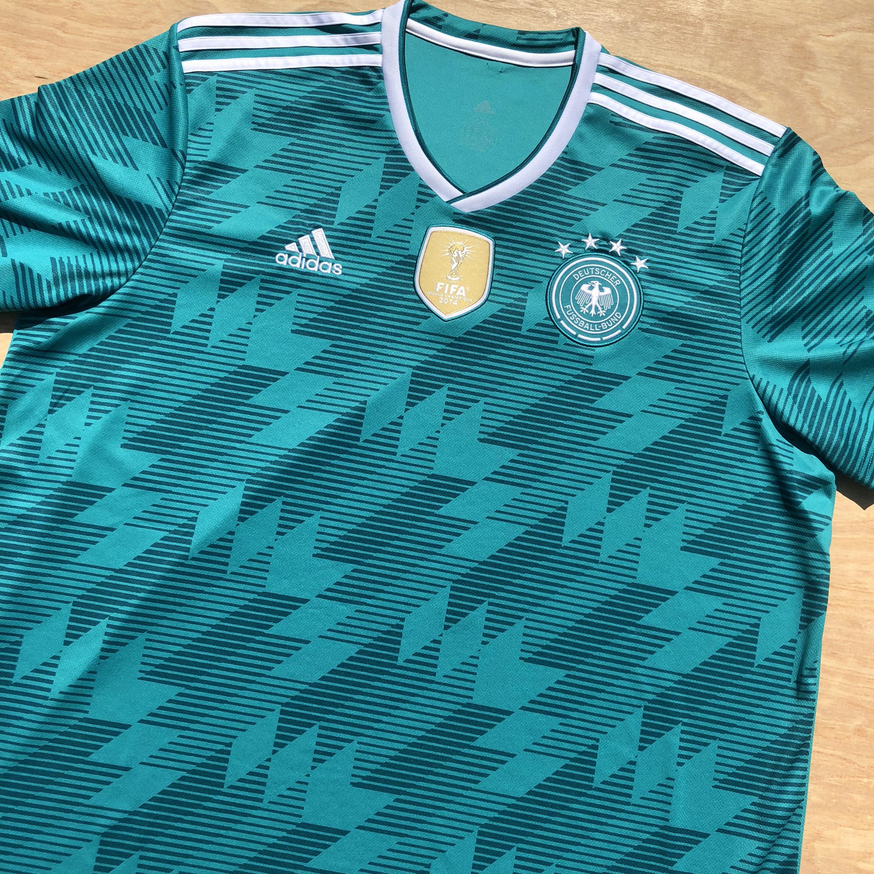 ce2ba1456e9 Adidas × Vintage ×. 2014 Adidas Germany Fifa World Cup Champion Soccer ...