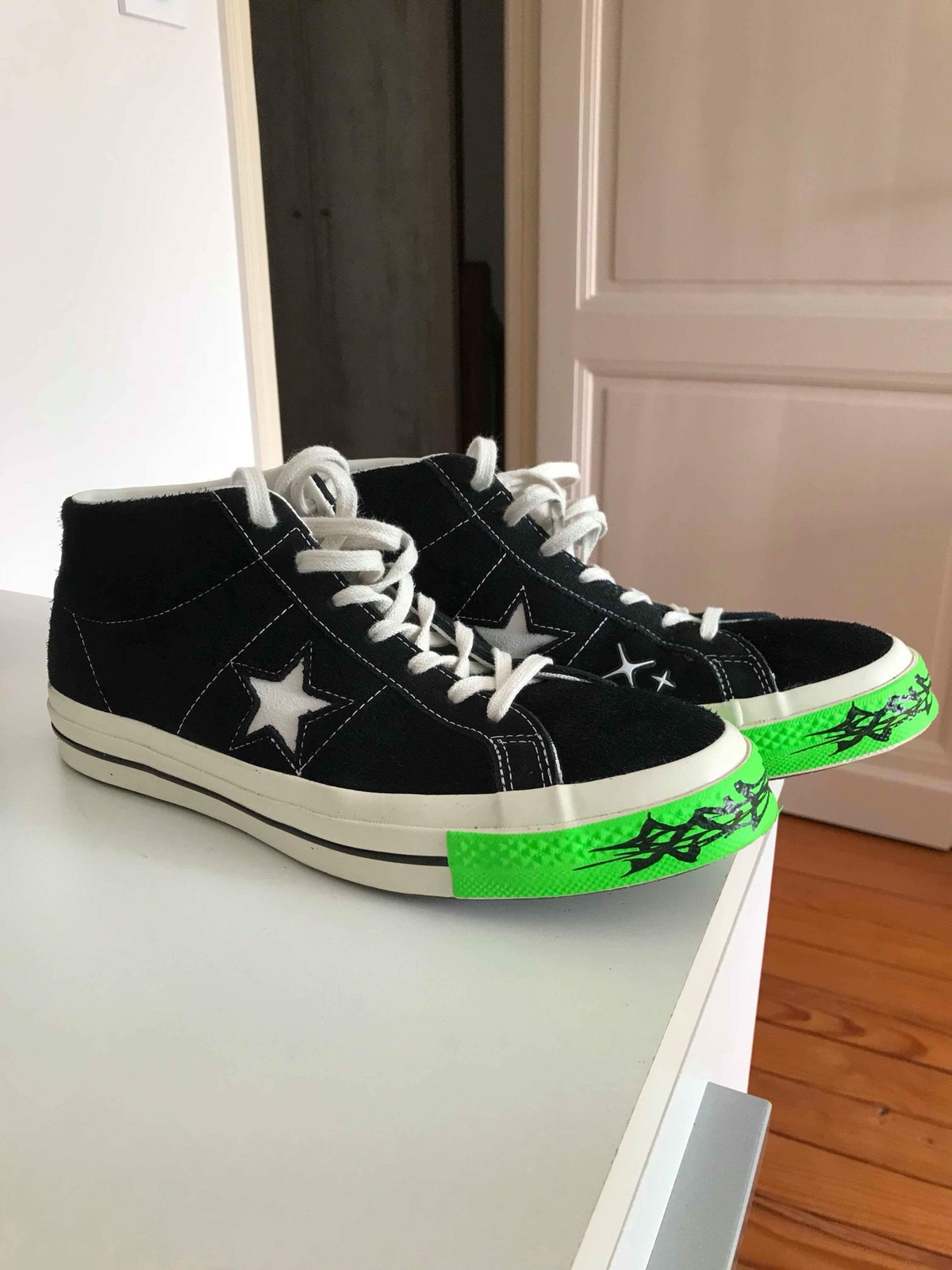199b8c68cb60 Yung Lean Yung Lean Converse One Star Size 9.5 - Hi-Top Sneakers for Sale -  Grailed