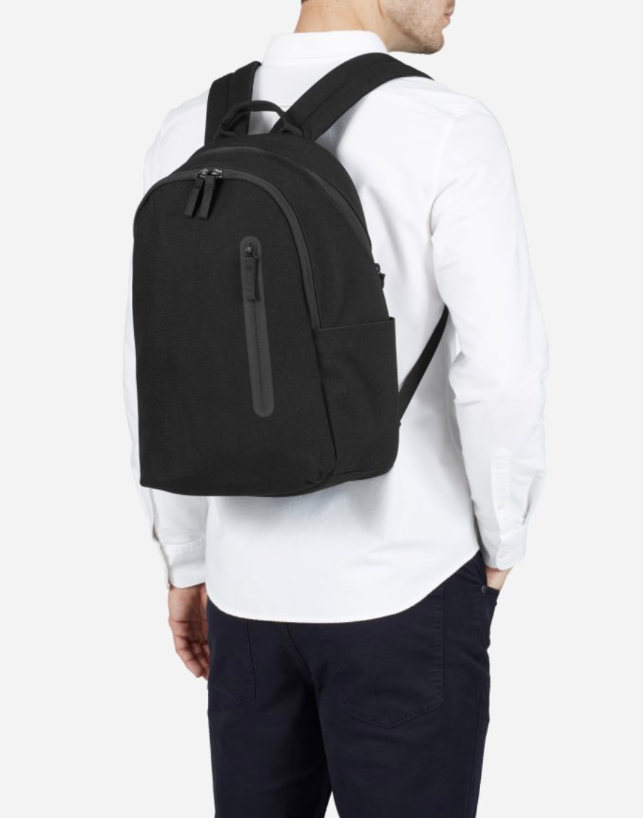 247796b9f69f Black The Nylon Commuter Backpack 0