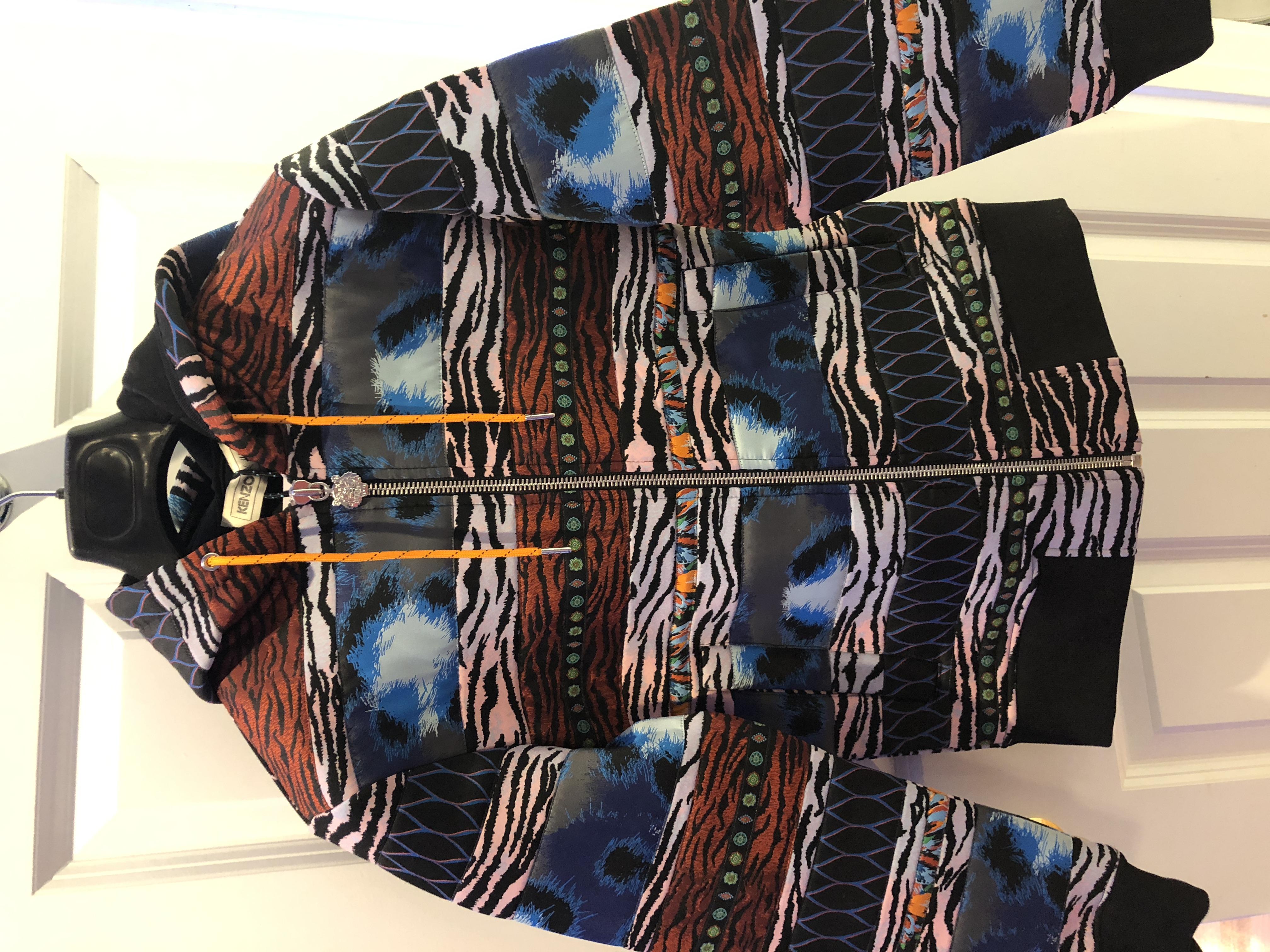 e739e8cc Kenzo Brand New Kenzo X Hm Multi-panel Hooded/hoodie Sweatshirt Xs | Grailed