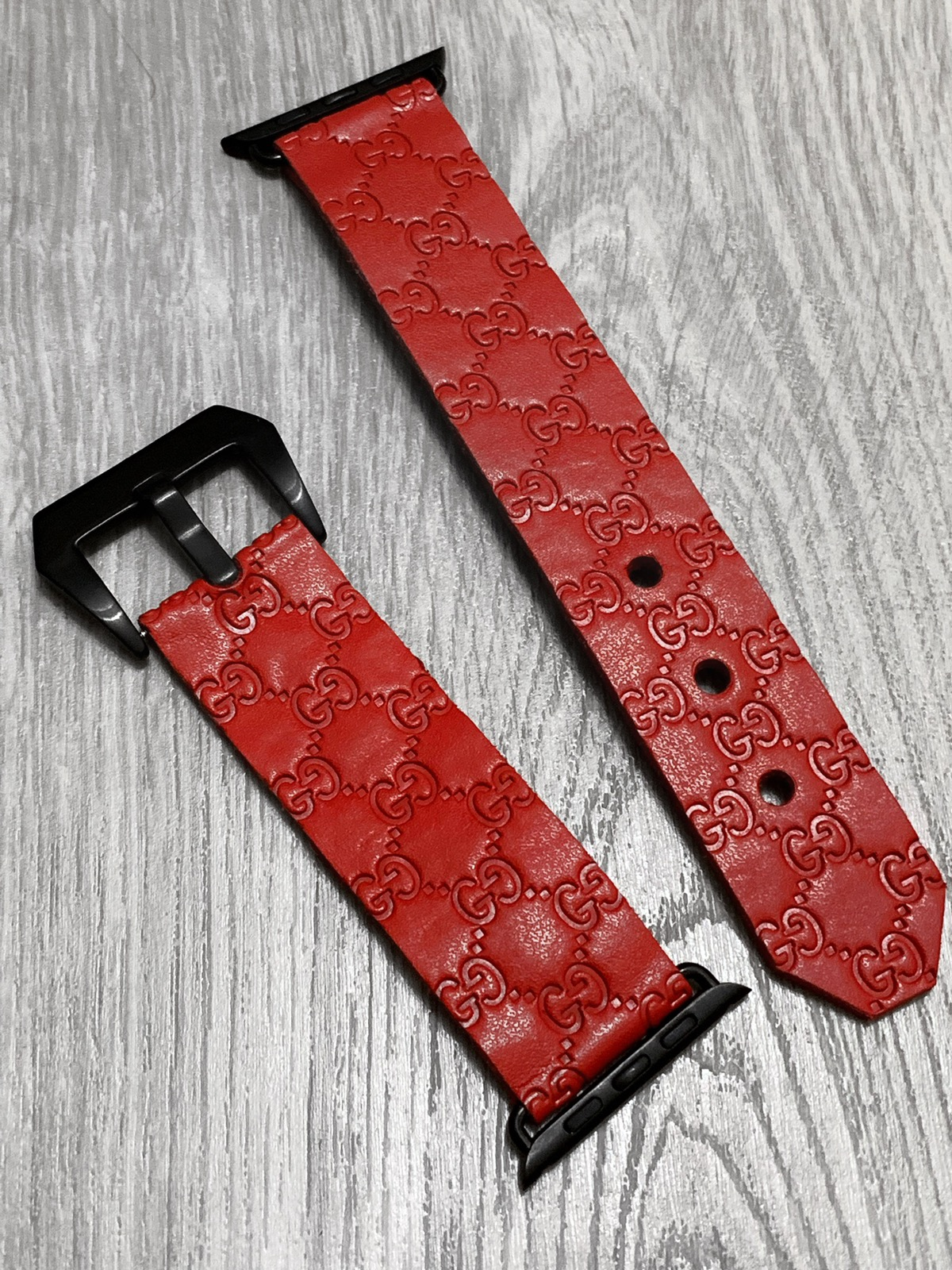 online retailer 866d5 7ff10 Gucci Apple Watch Watchband Stripe Belt iPhone X 10 Case Handmade Custom  Made From Vintage Monogram Bag