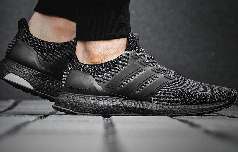 c23cd49f91cf7 Adidas Adidas Ultra Boost 3.0 Triple Black Silver BA8923 Size 9.5 - Low-Top  Sneakers for Sale - Grailed