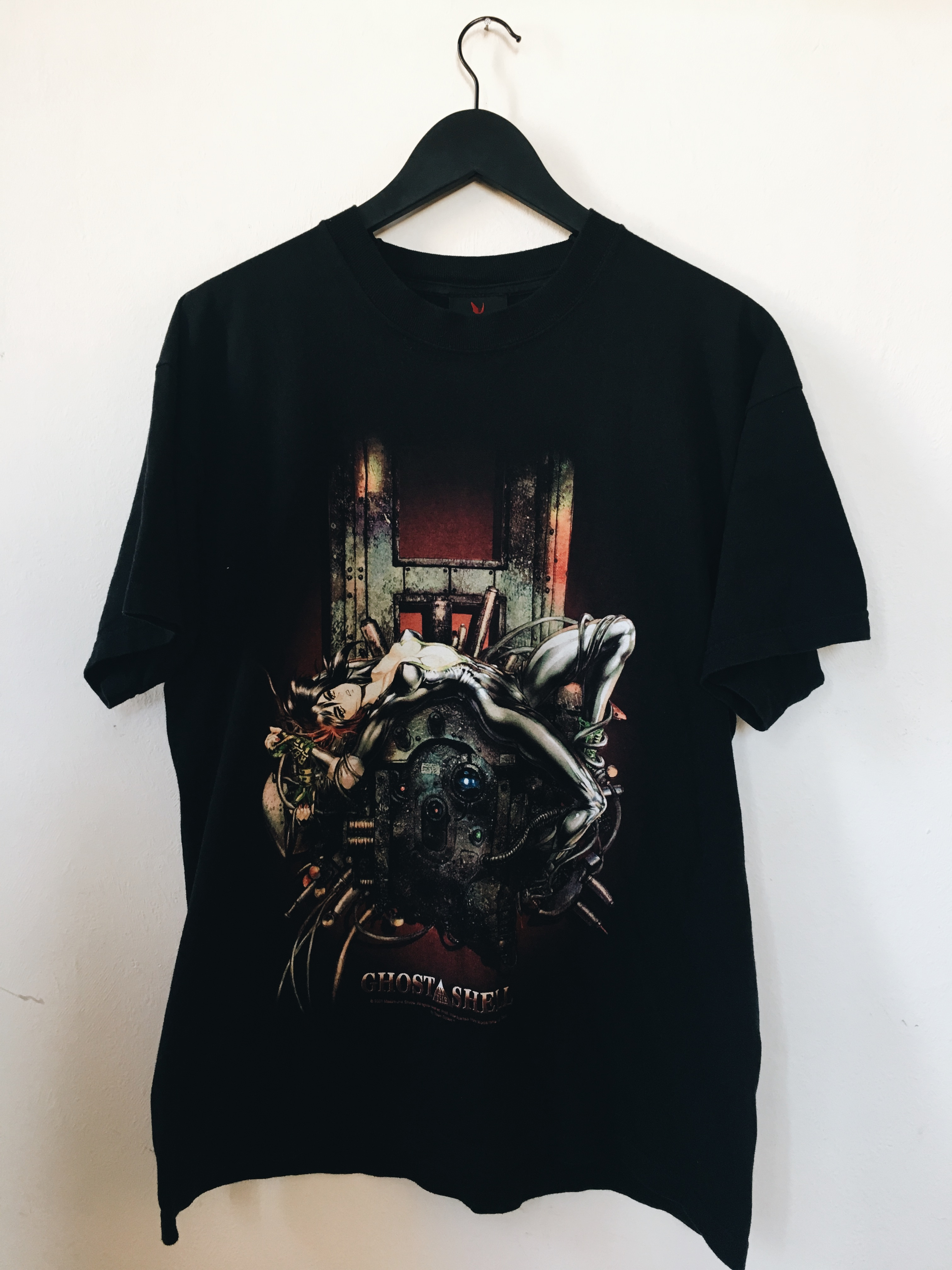 Vintage Vintage 01 Ghost In The Shell Officially Licensed T Shirt Grailed