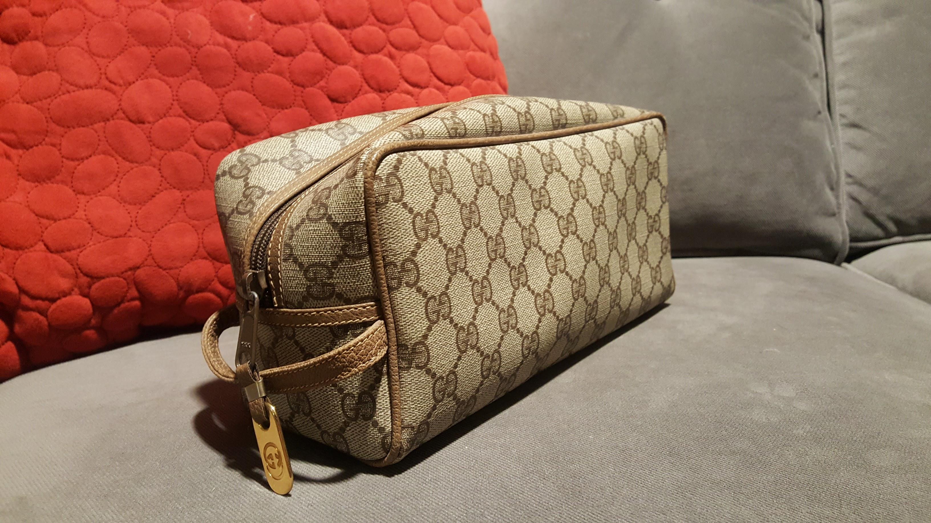 baa9ce32da83 Gucci Toiletry Bag / Dopp Kit /shaving Bag | Grailed