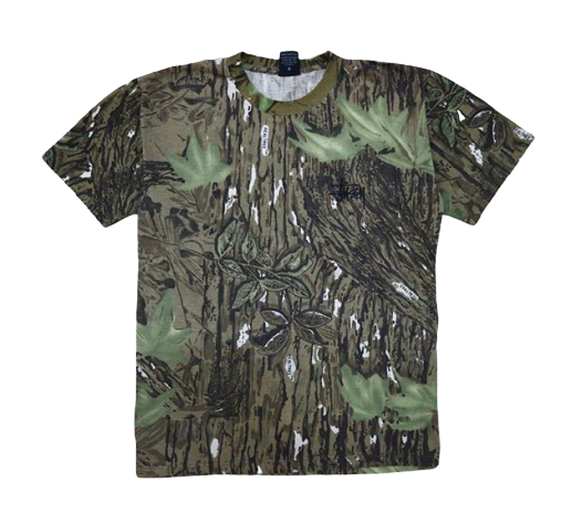 Vintage Stussy Camouflage T-Shirt Streetwear