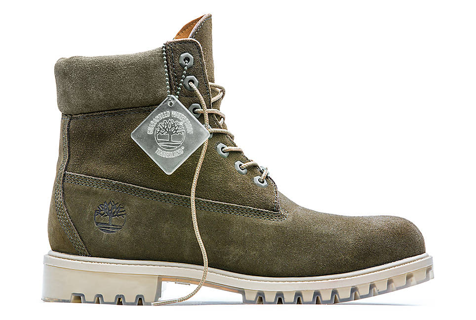 62c9e705499 Timberland Autumn Leaf Limited Edition Collection Olive Green Suede 6 Inch  Boots   Grailed