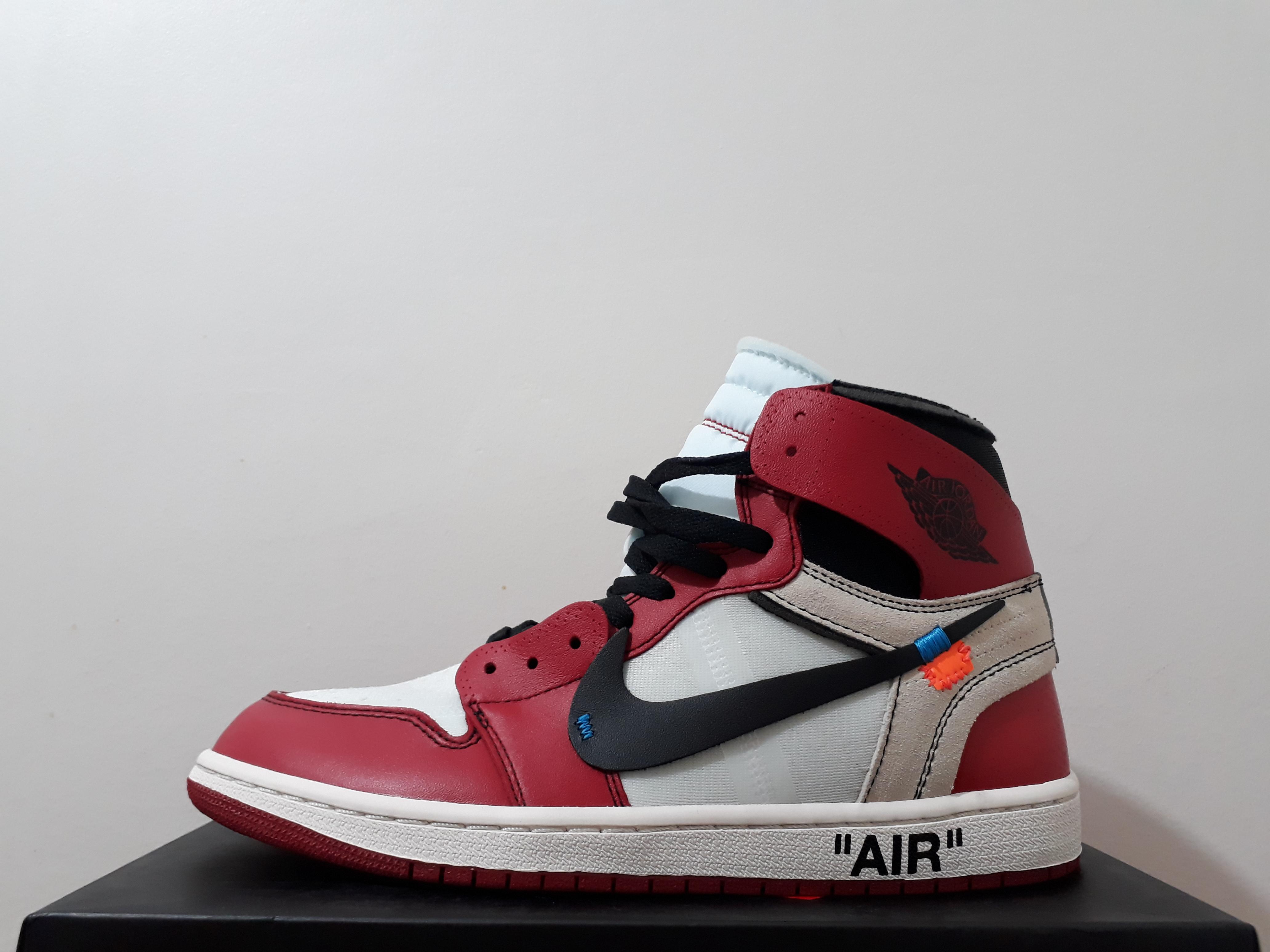 3be99c07801d Nike Nike X Off White Air Jordan 1 Retro High (aa3834-101) Early ...