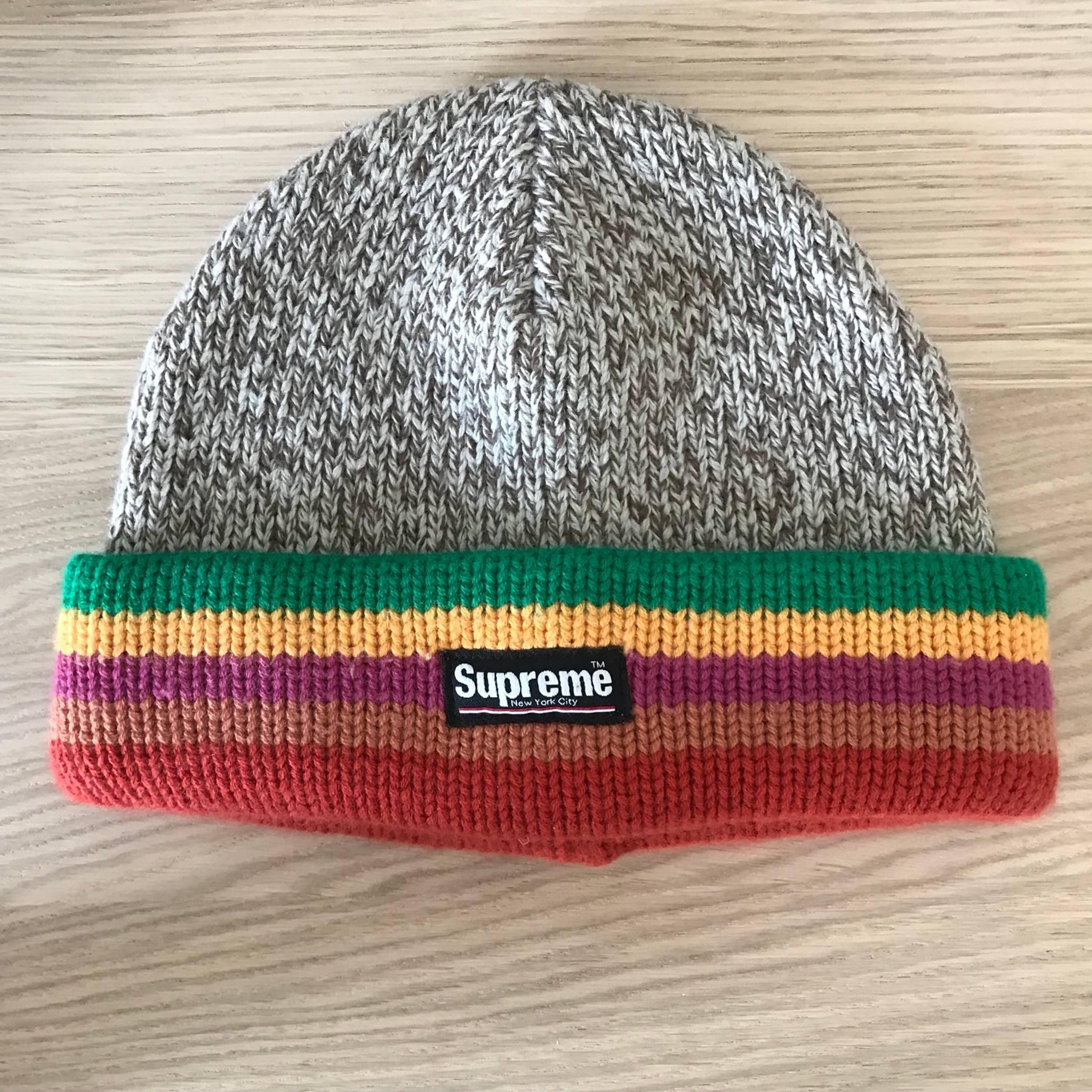 2e292d18bde Supreme ×. Supreme Ragg Wool Beanie