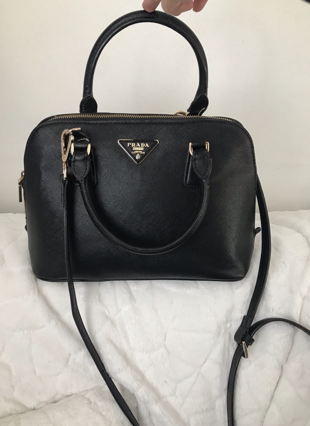 c317576ccf1e Prada  STEAL  PRADA PROMENADE SAFFIANO LEATHER BAG💰FLASH DEAL 💰 GREAT  PRICE GOOD CONDITION Size one size - Bags   Luggage for Sale - Grailed