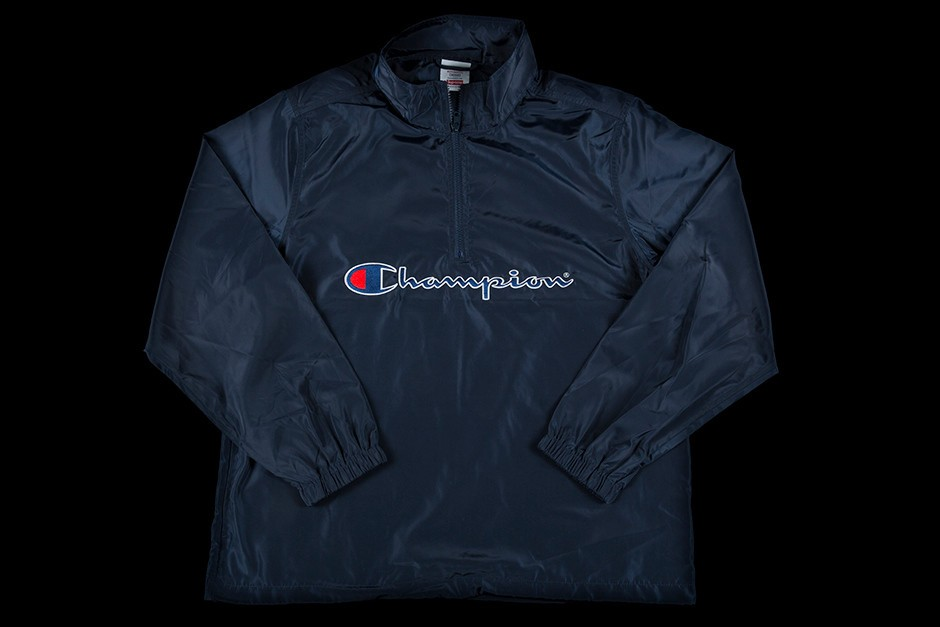 7c4ebda879c Supreme supreme champion half zip pullover navy L Size l - Sweatshirts    Hoodies for Sale - Grailed