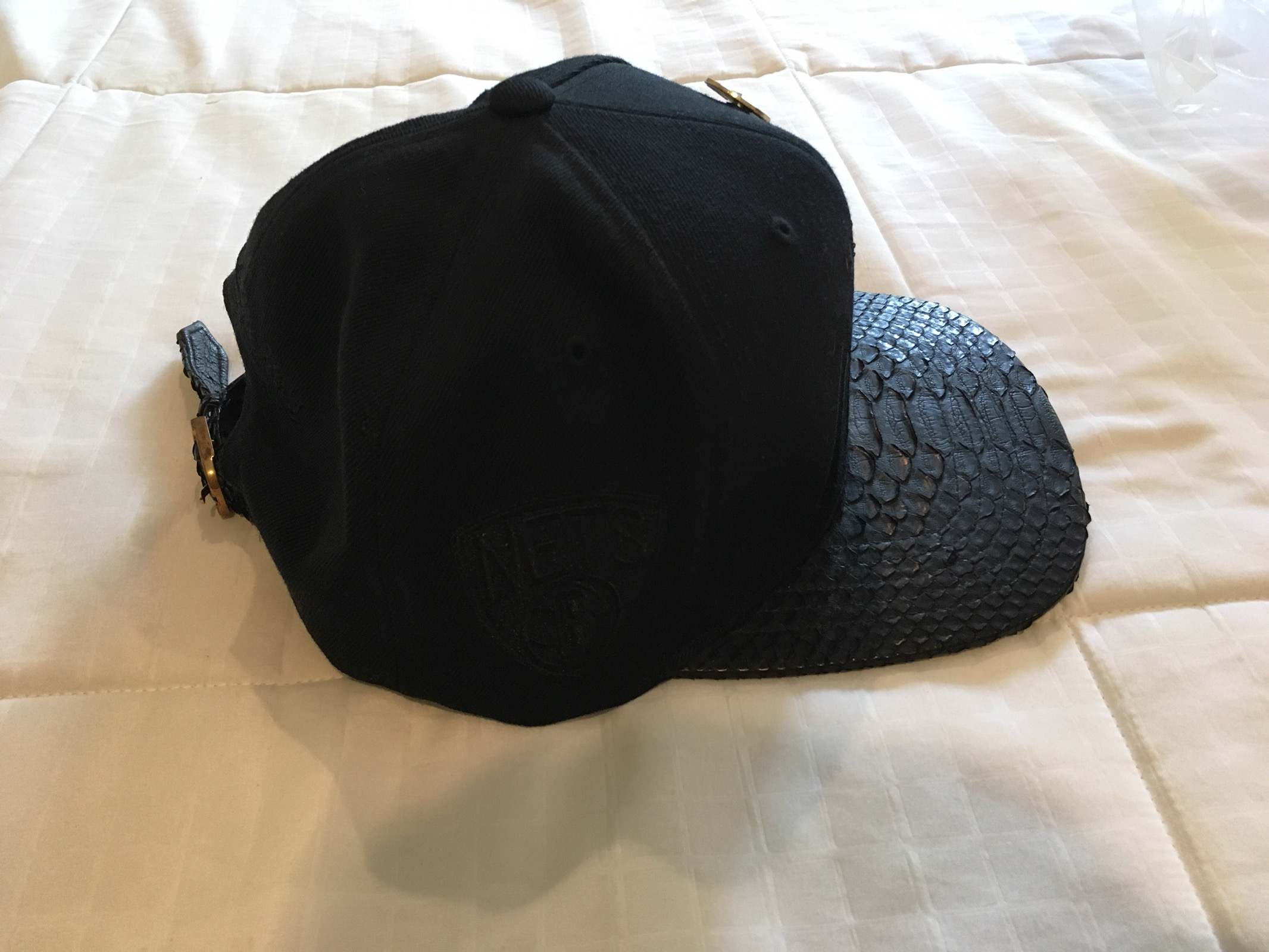 Just Don Just Don Brooklyn Nets Snakeskin Hat Size one size - Hats ... 20d099265325