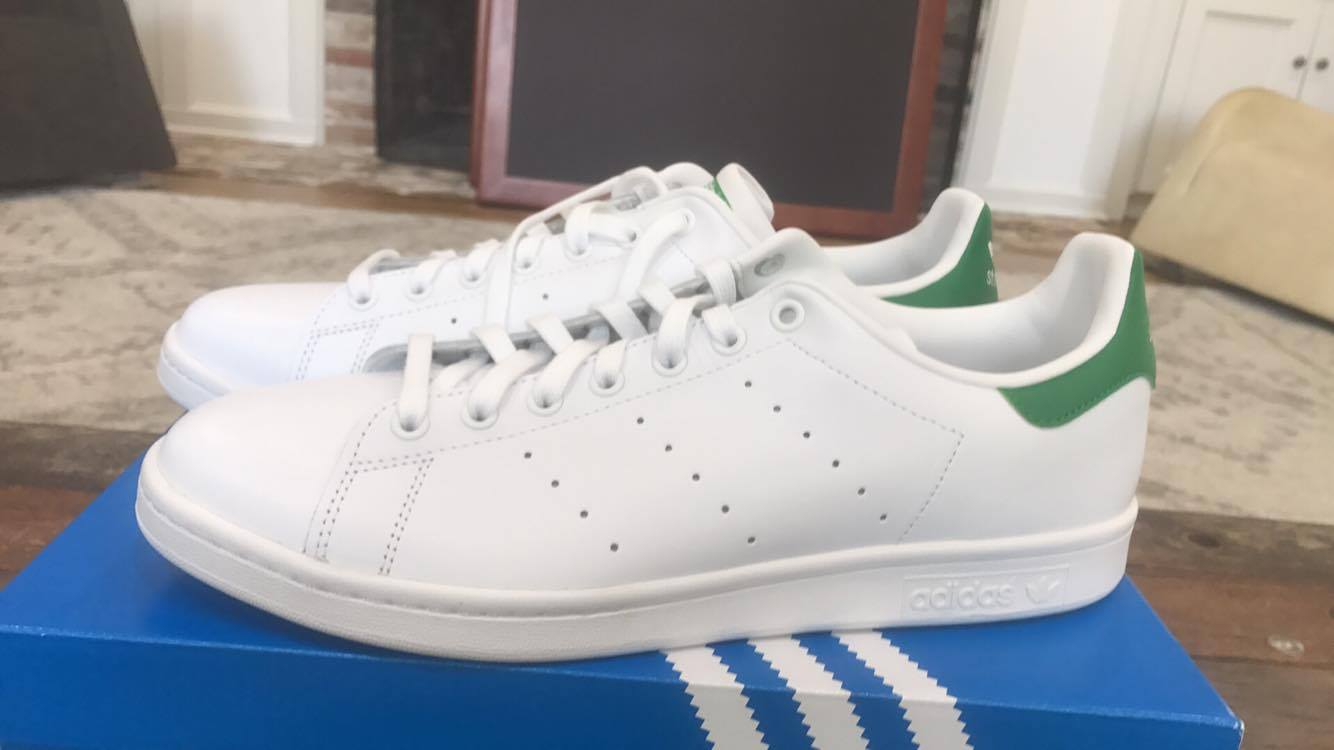 Brand New Deadstock Adidas Stan Smith Green Size 12