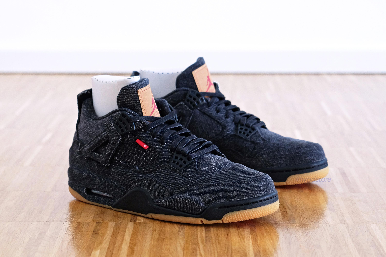 low priced 37edd fc2ad Nike × Jordan Brand × Levi s ×. Nike Air Jordan 4 ...