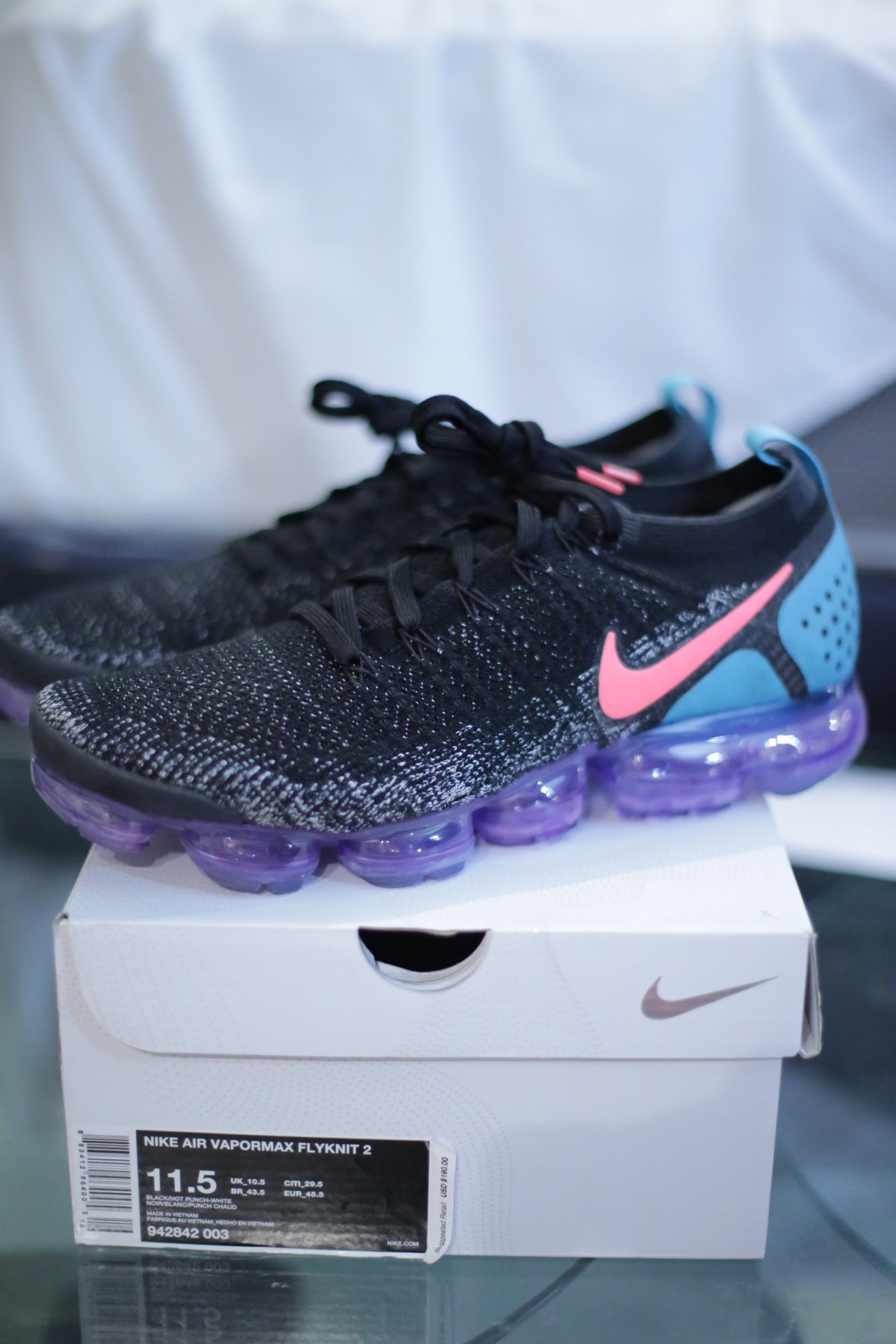 new styles 5359c d7600 Nike Airmax 270 Vapormax Hot Punch