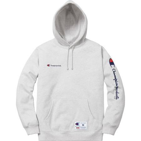 Supreme X Champion Hooded Sweatshirt Size M Sweatshirts Hoos For Grailed