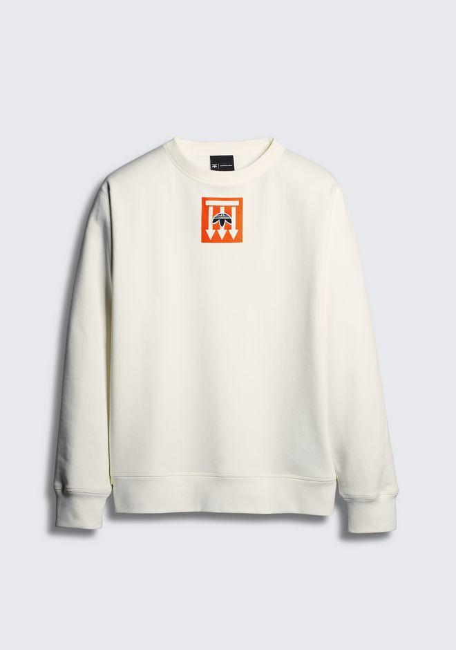 alexander wang x adidas sweater white